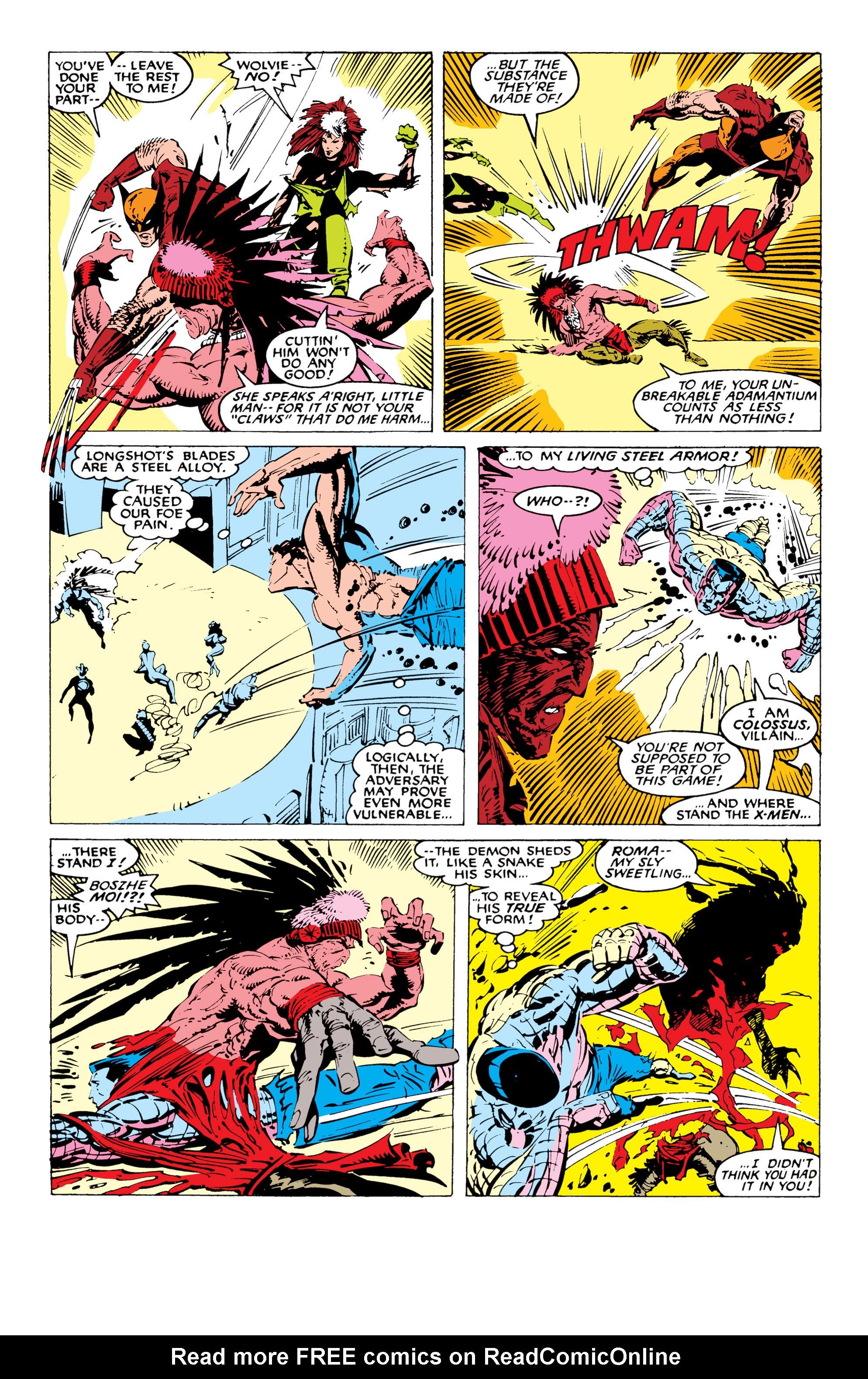 Read online Uncanny X-Men (1963) comic -  Issue #227 - 15