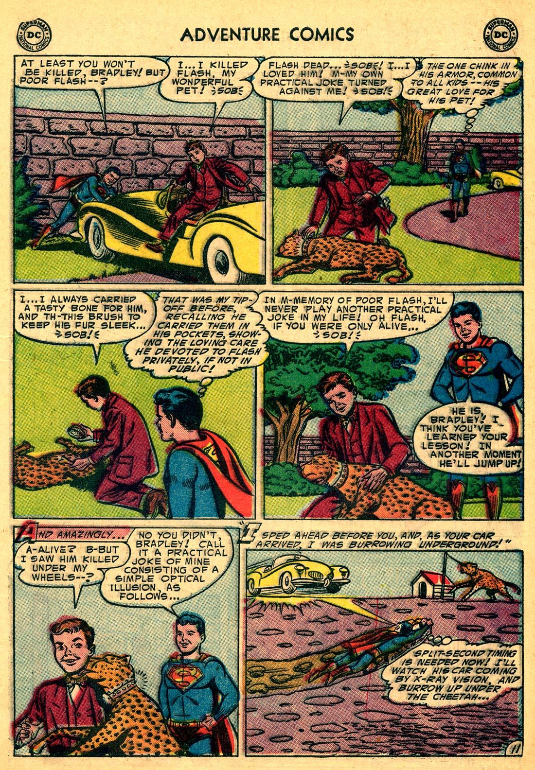 Read online Adventure Comics (1938) comic -  Issue #204 - 13