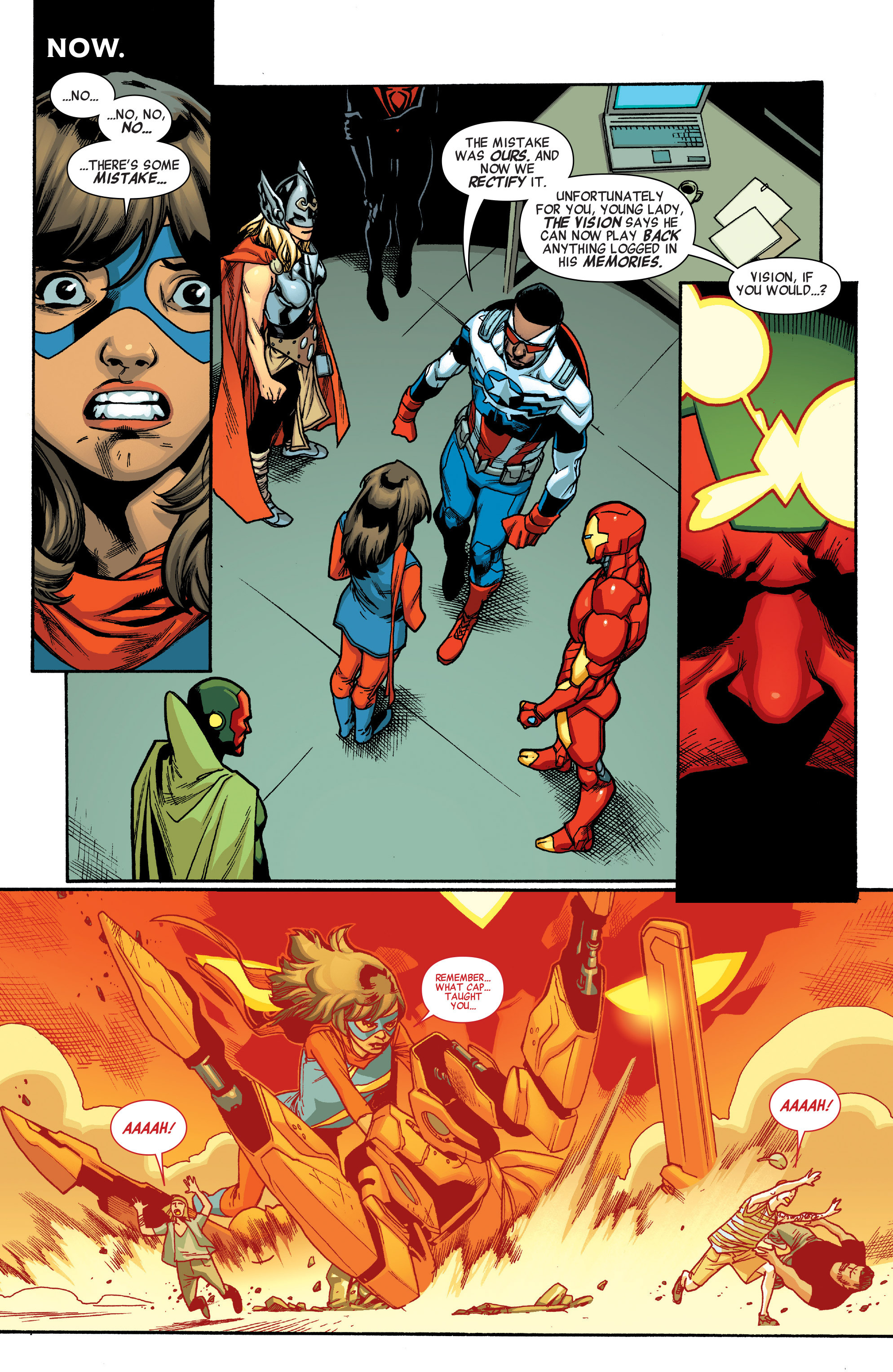 Read online All-New, All-Different Avengers comic -  Issue #5 - 10