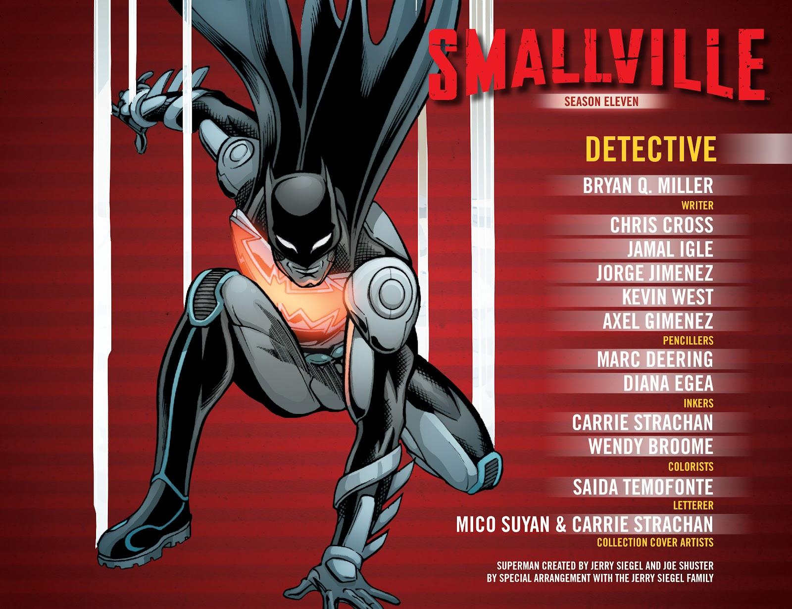 Read online Smallville Season 11 [II] comic -  Issue # TPB 2 - 3