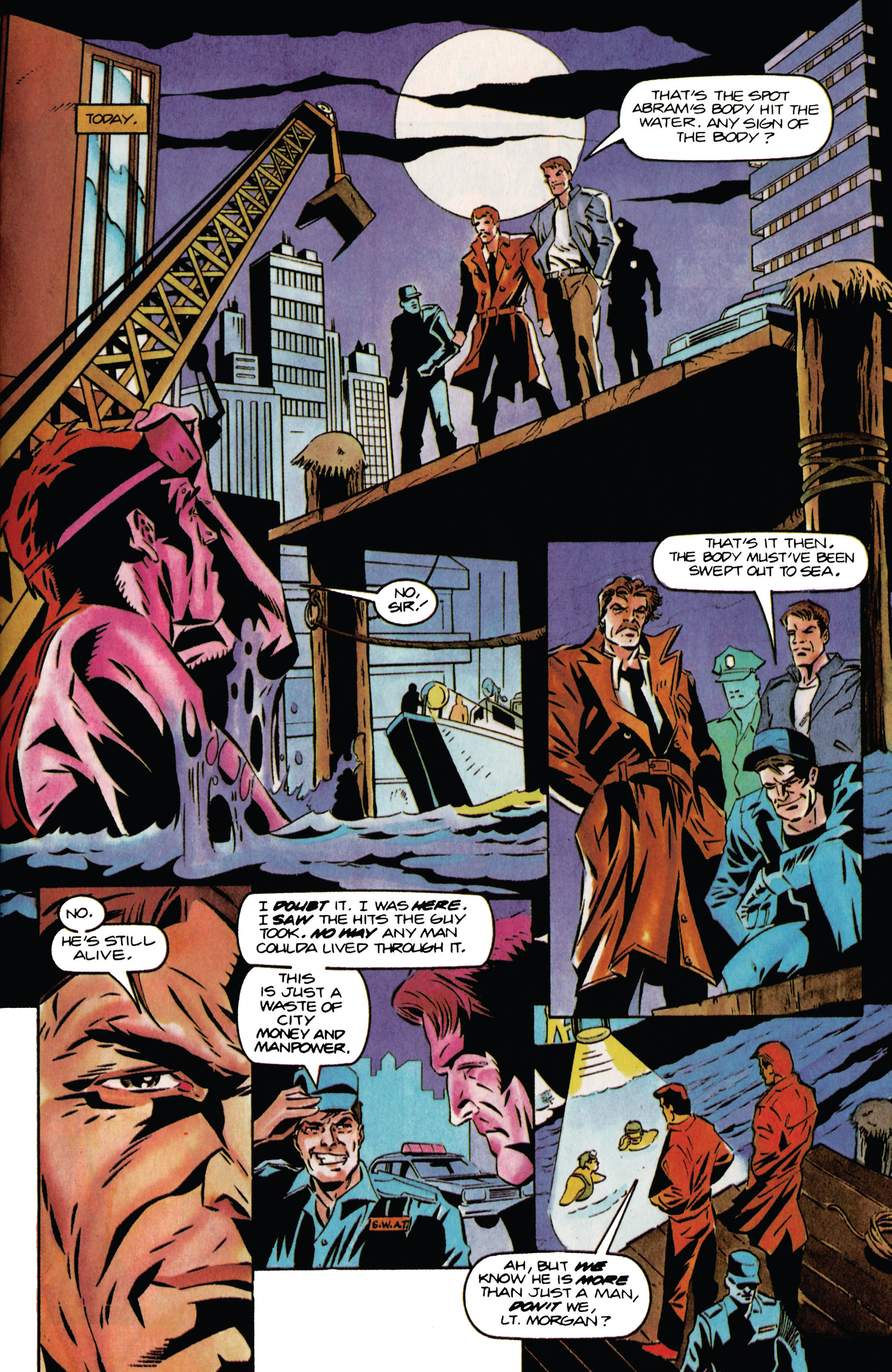 Read online Eternal Warrior (1992) comic -  Issue #34 - 7