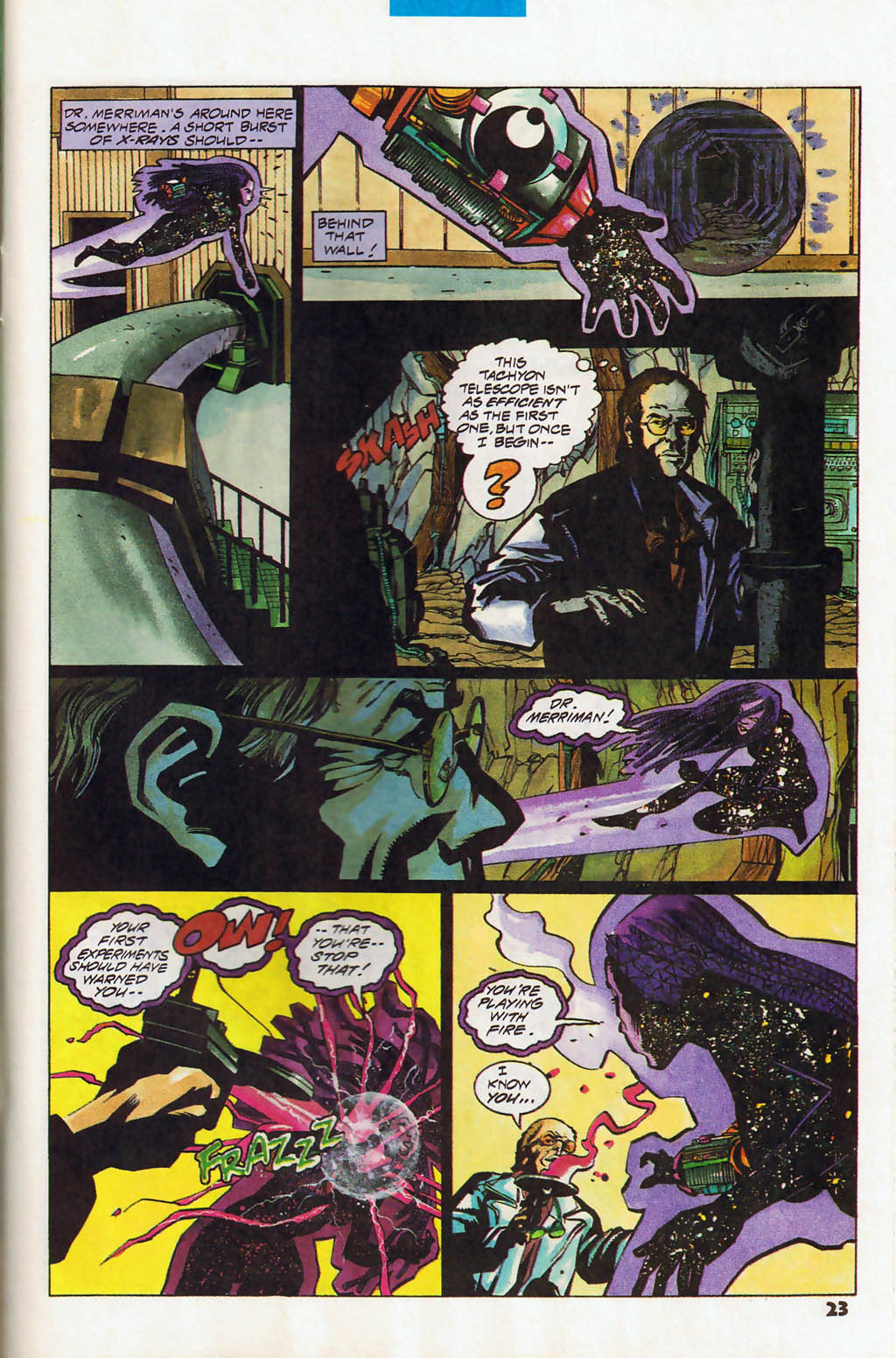 Read online Shadow Cabinet comic -  Issue #13 - 17