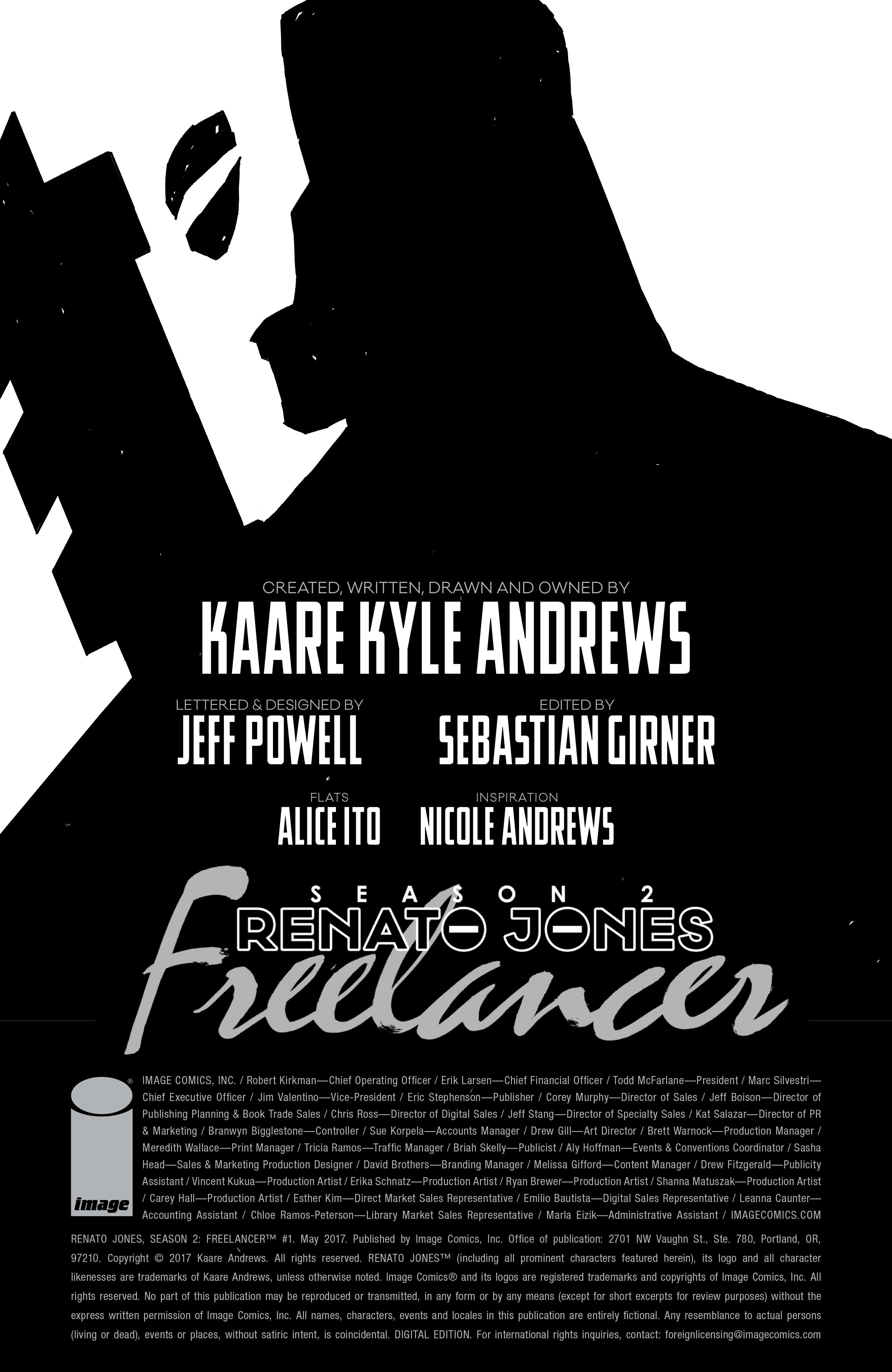 Read online Renato Jones, Season 2: Freelancer comic -  Issue #1 - 3