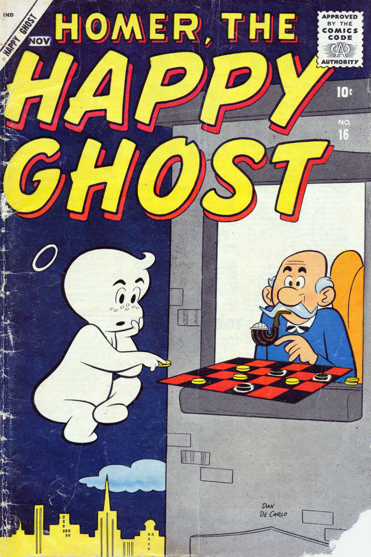 Homer, the Happy Ghost 16 Page 1