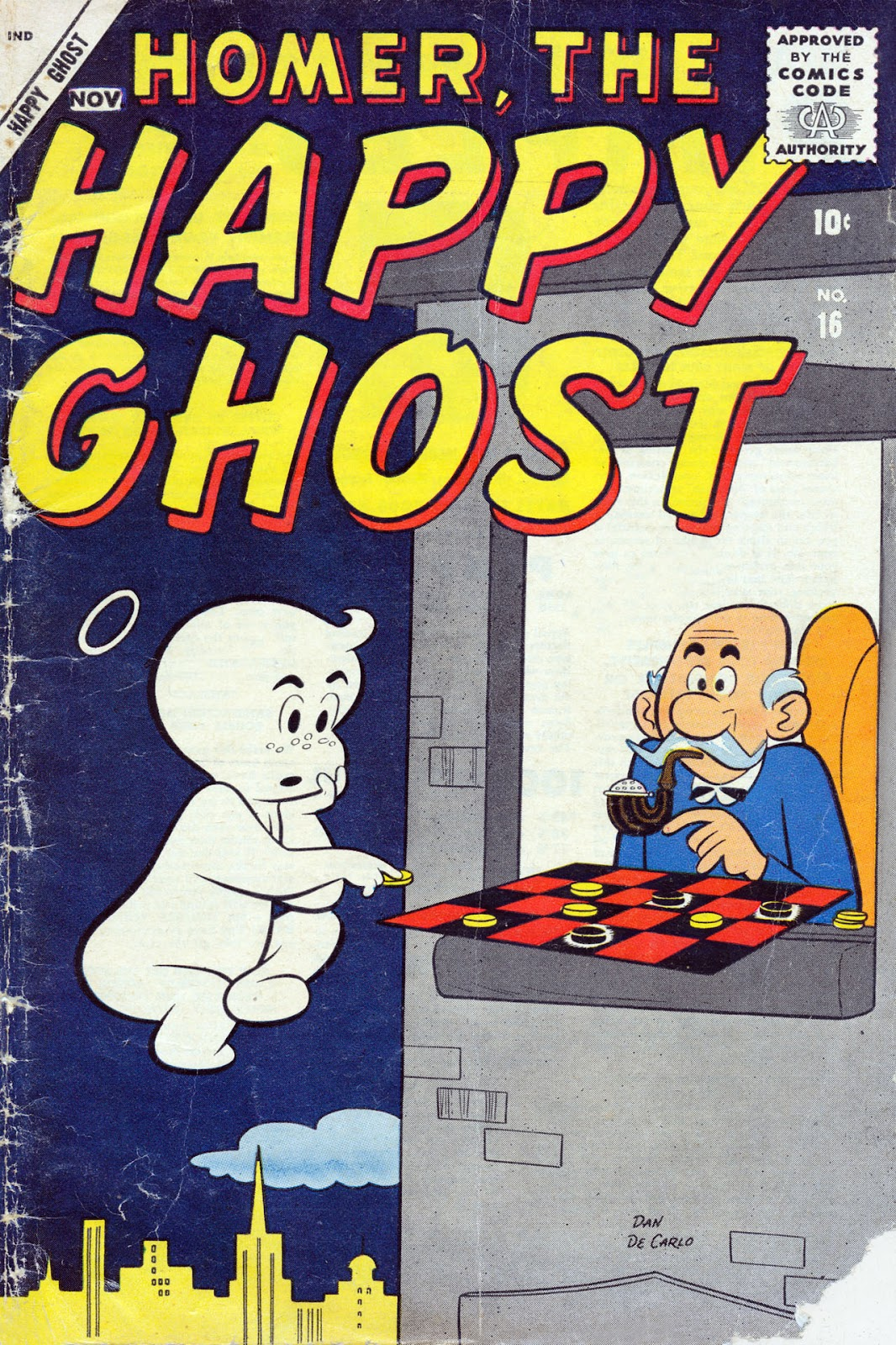 Homer, the Happy Ghost issue 16 - Page 1
