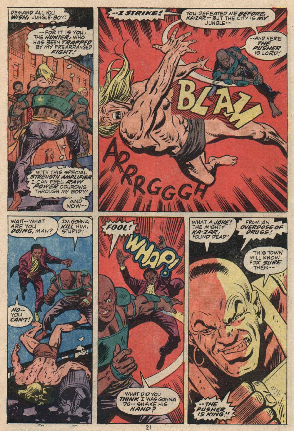 Read online Astonishing Tales (1970) comic -  Issue #16 - 15