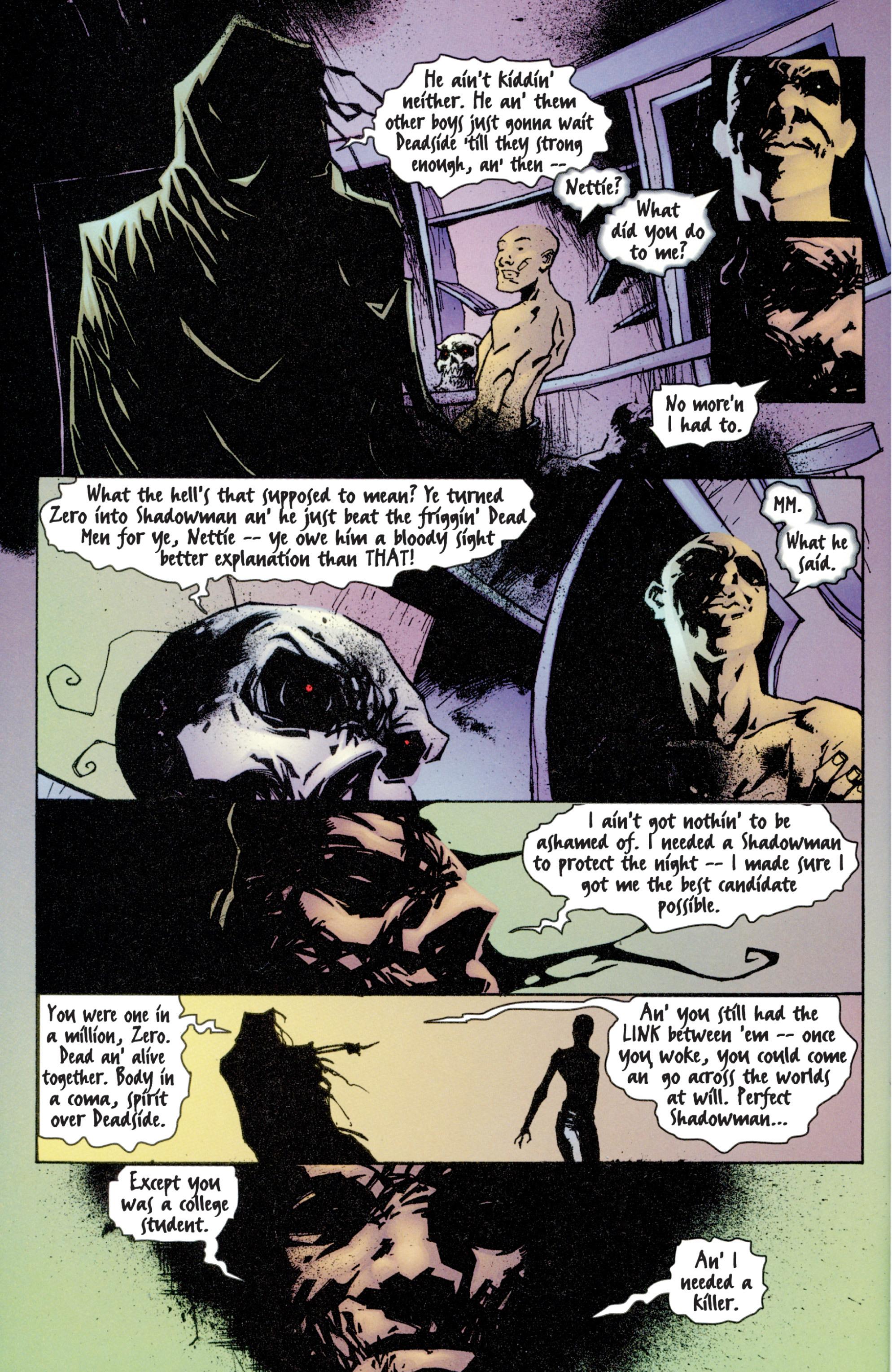 Read online Shadowman (1997) comic -  Issue #4 - 18