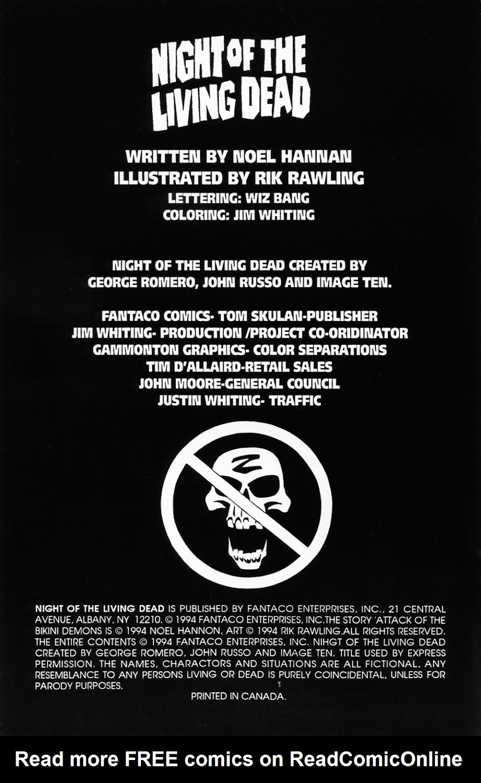 Read online Night of the Living Dead (1994) comic -  Issue #0 - 2