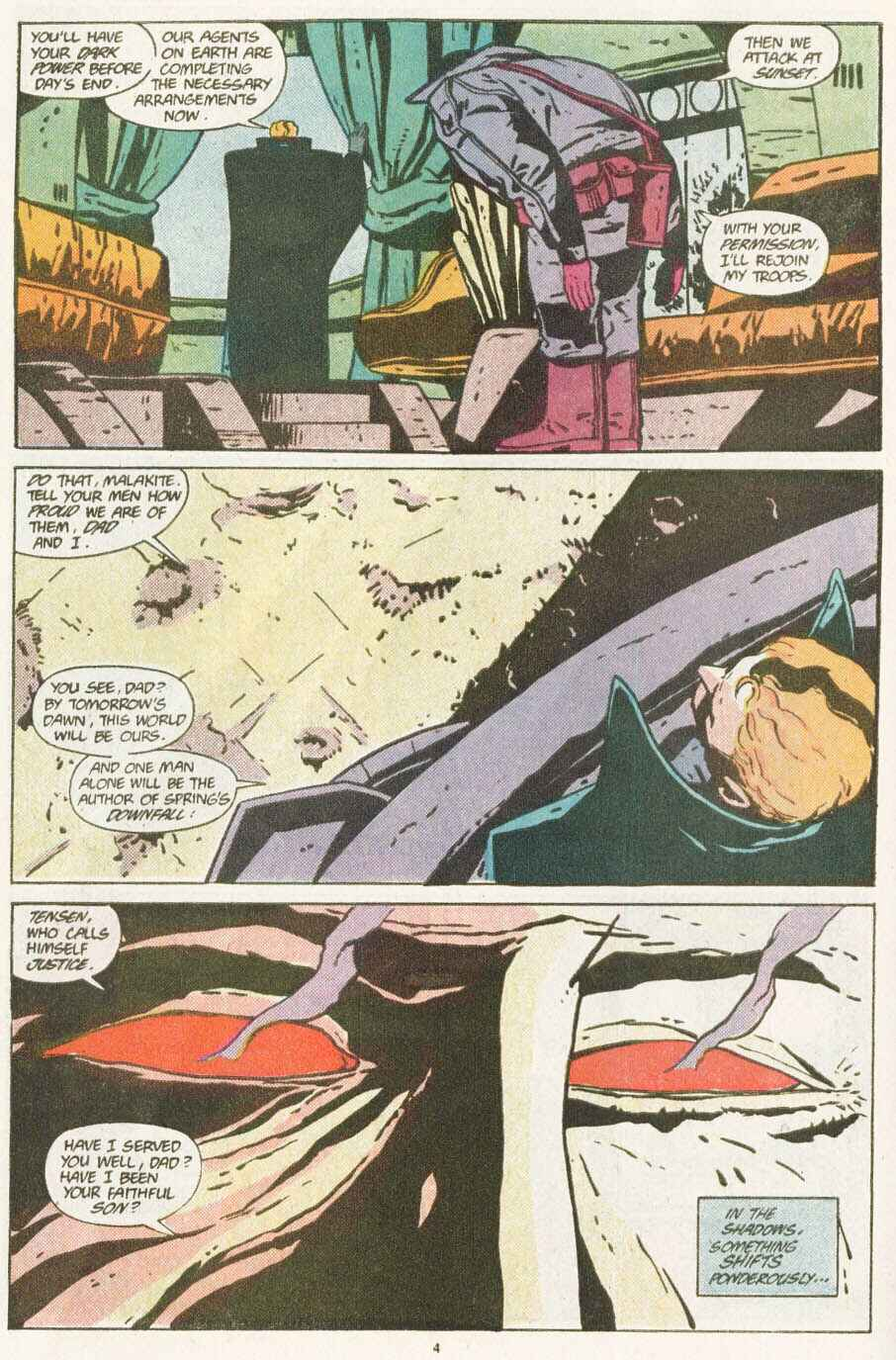 Read online Justice (1986) comic -  Issue #10 - 5