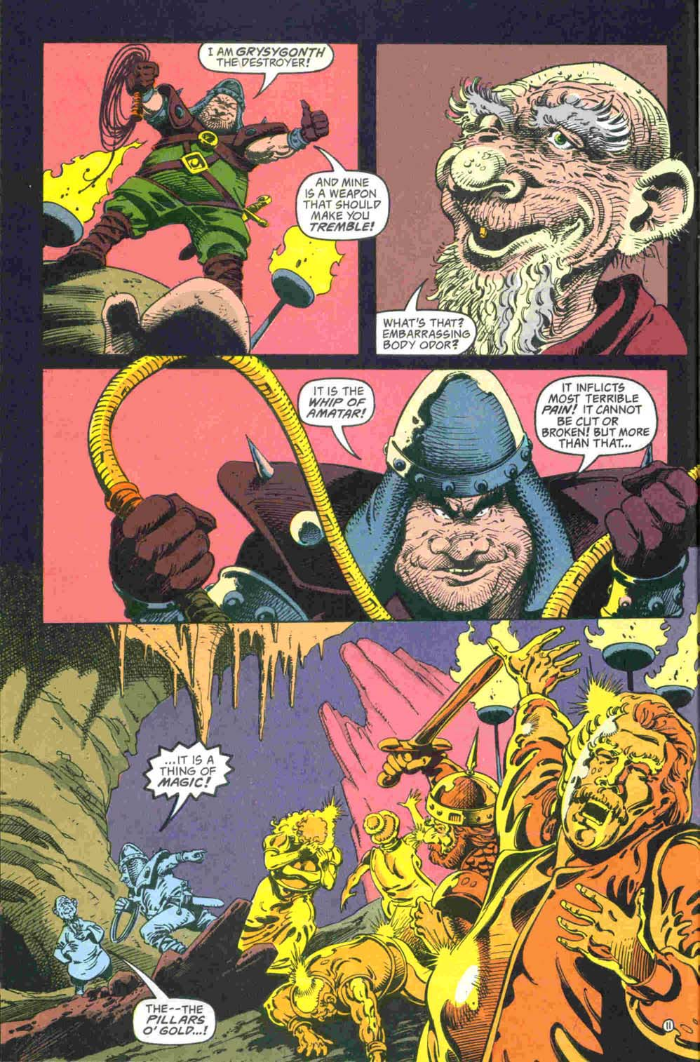 Read online Advanced Dungeons & Dragons comic -  Issue #32 - 12