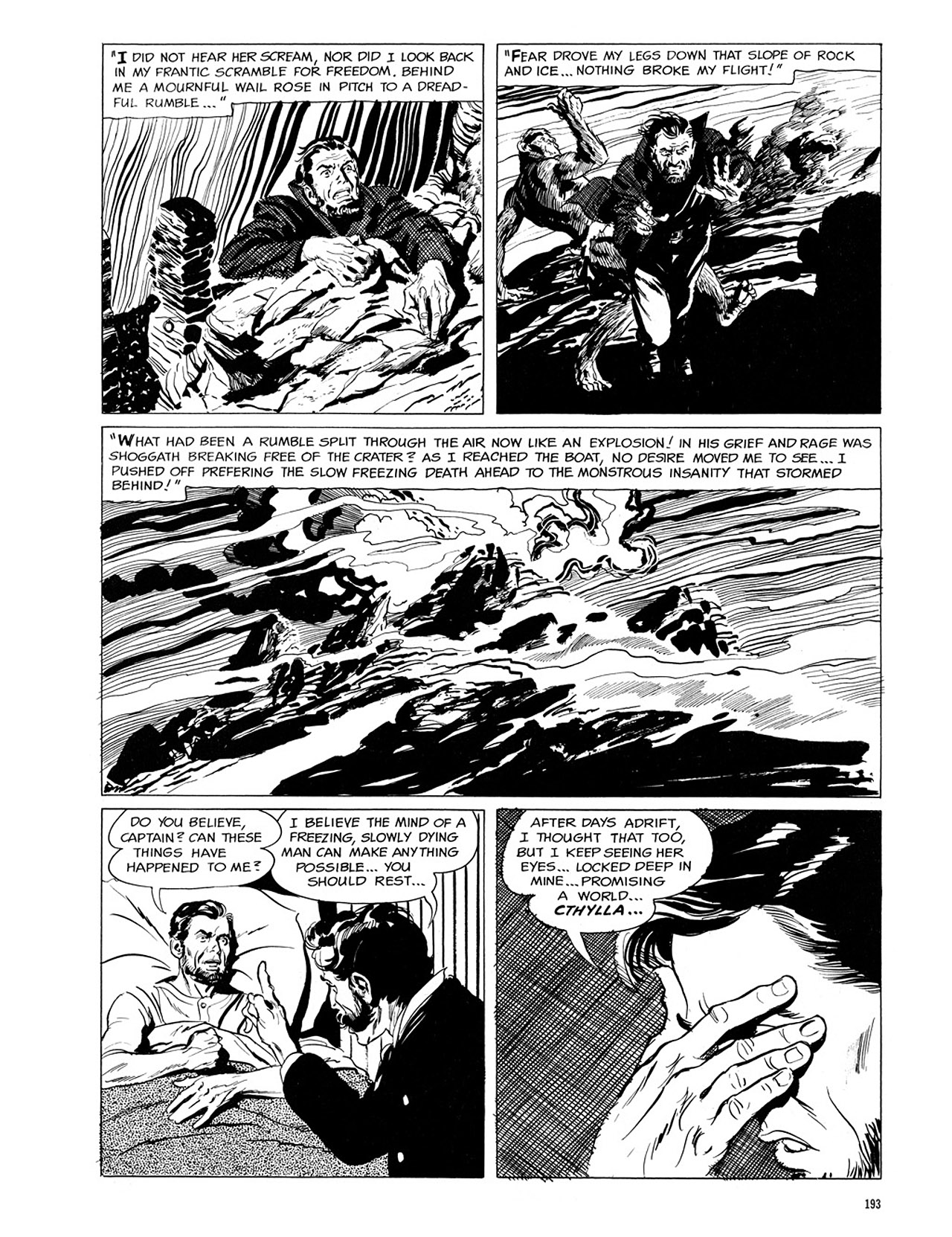 Read online Eerie Archives comic -  Issue # TPB 1 - 194