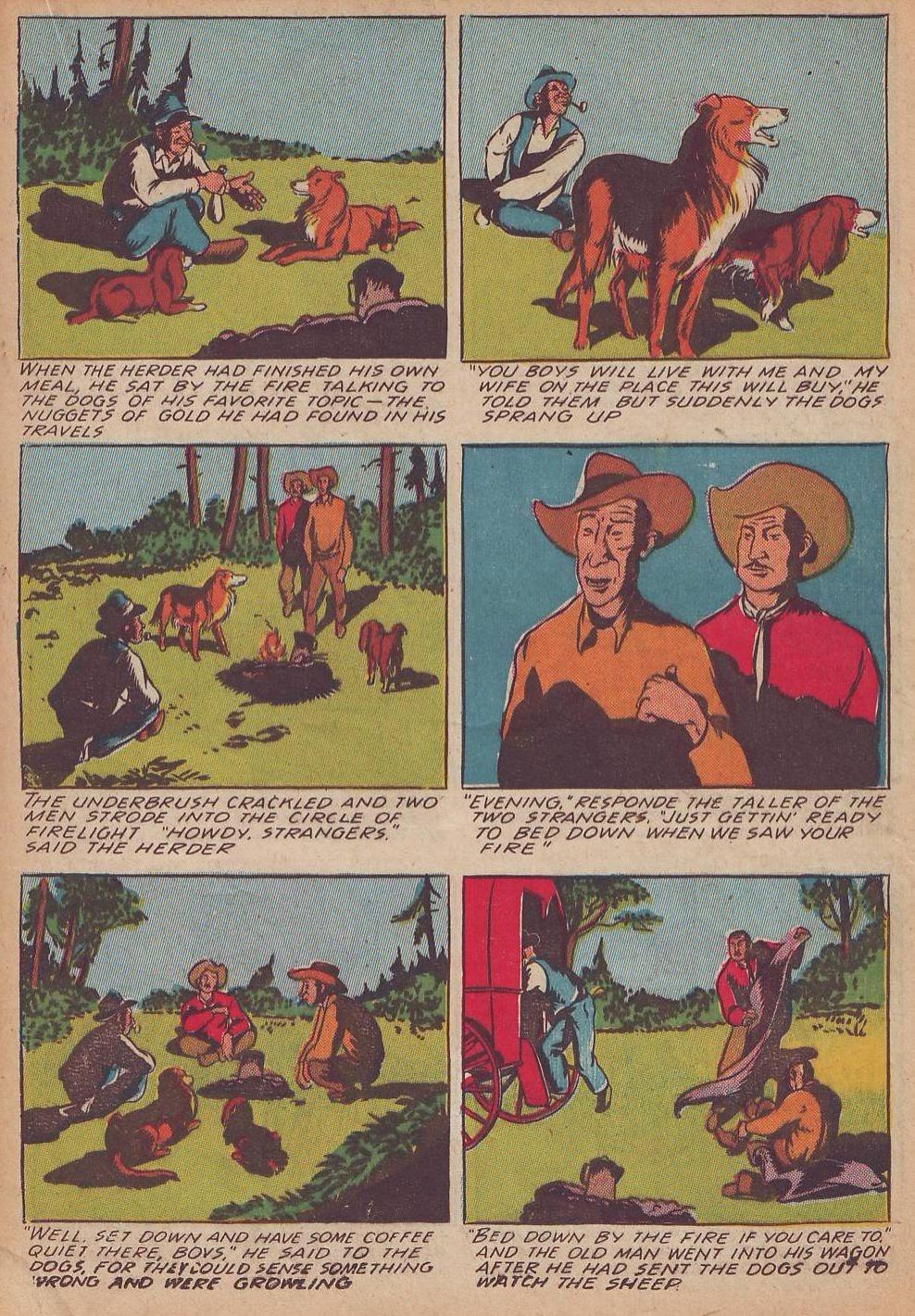 Read online Animal Comics comic -  Issue #21 - 29