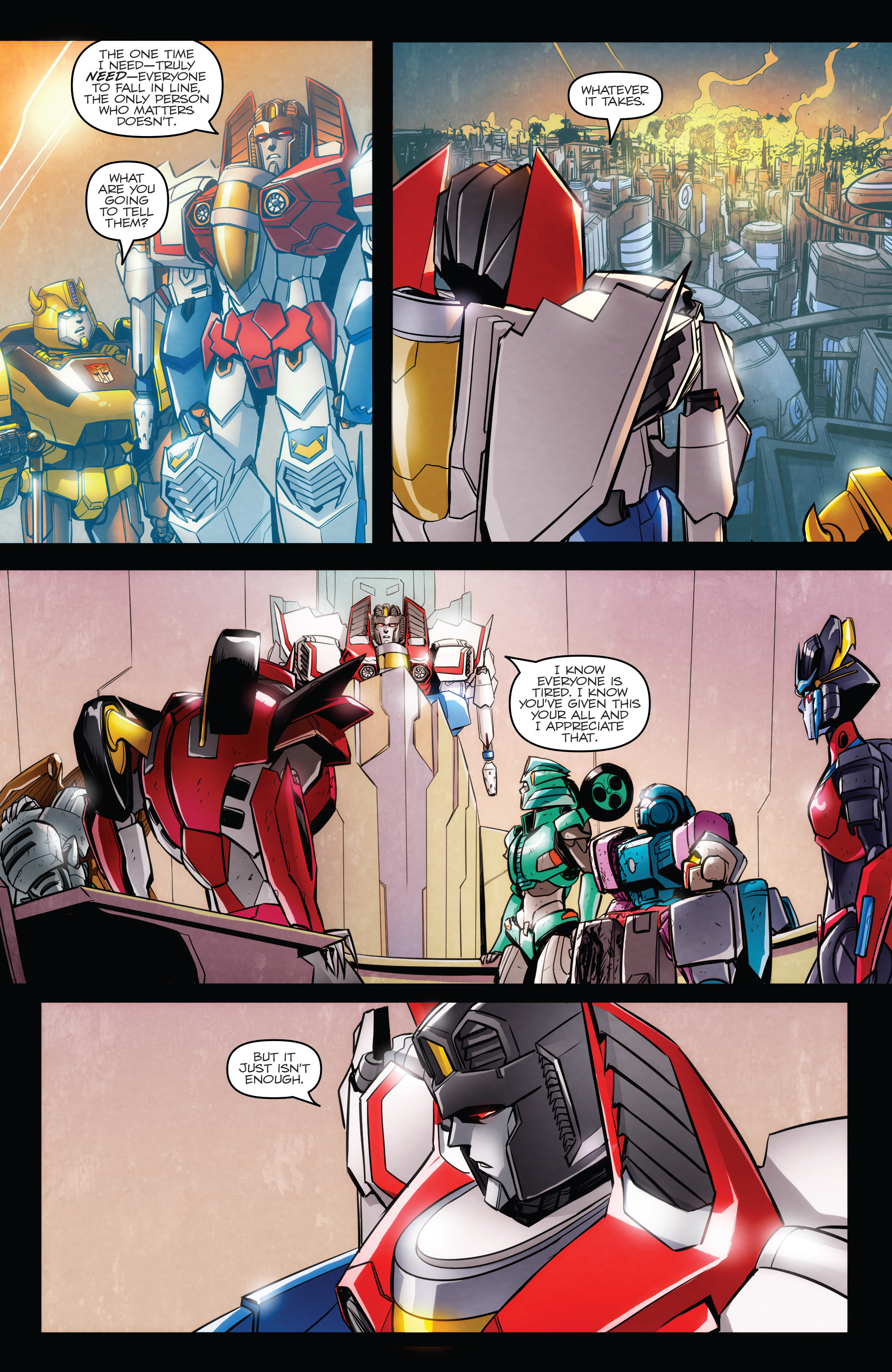 Read online Transformers: Till All Are One comic -  Issue #6 - 14