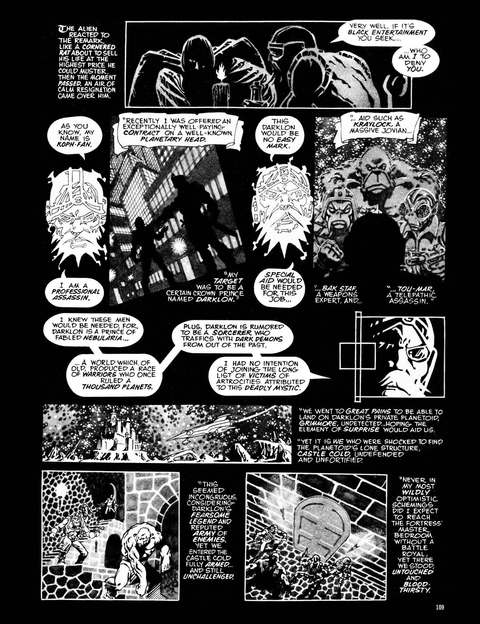 Read online Eerie Archives comic -  Issue # TPB 16 - 110