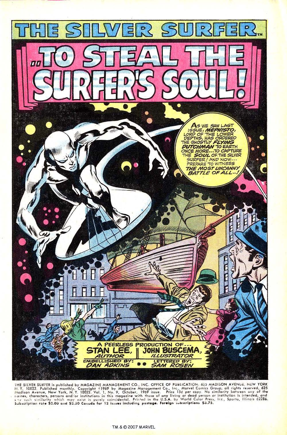 Silver Surfer (1968) Issue #9 #9 - English 3