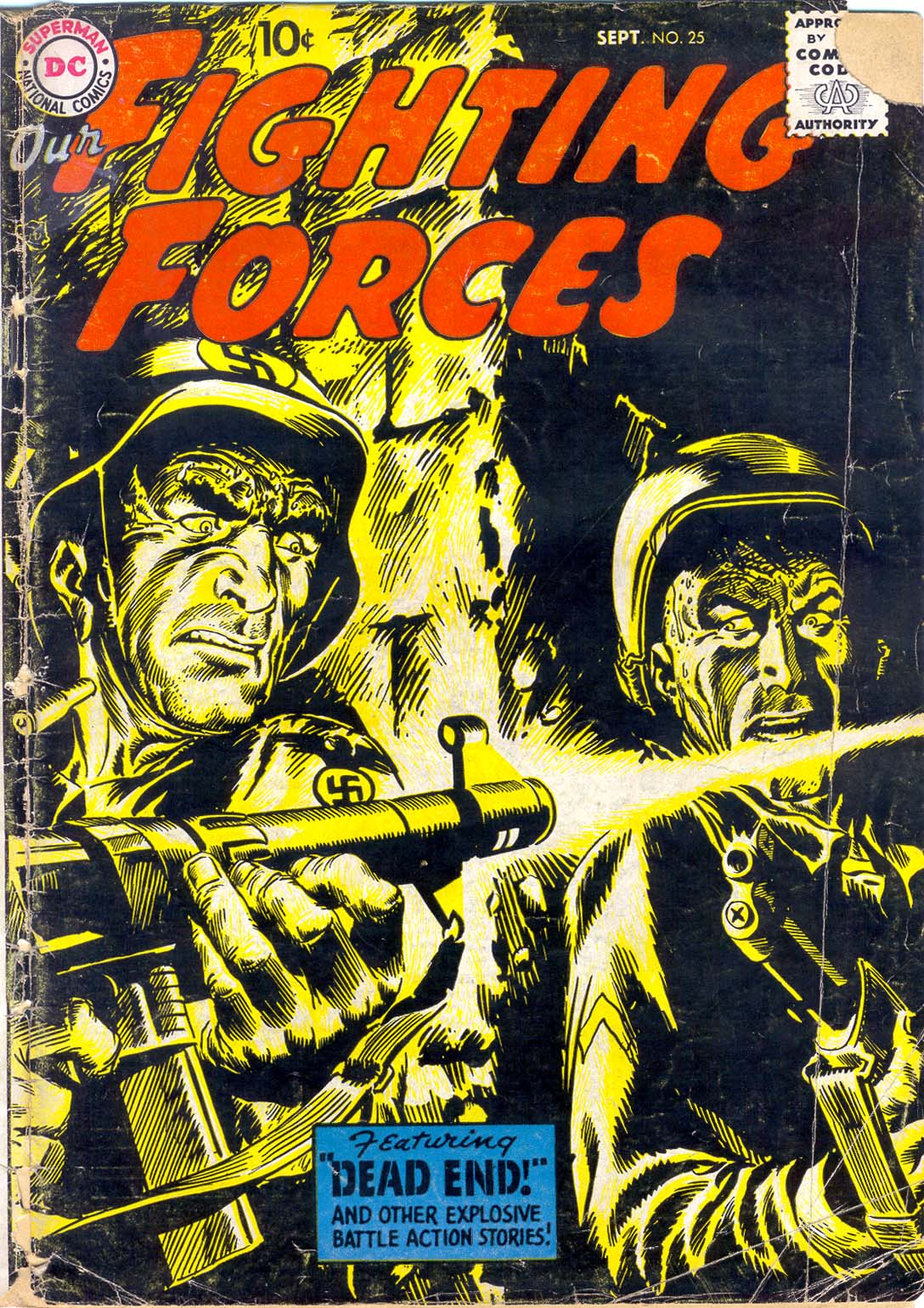Our Fighting Forces (1954) issue 25 - Page 1