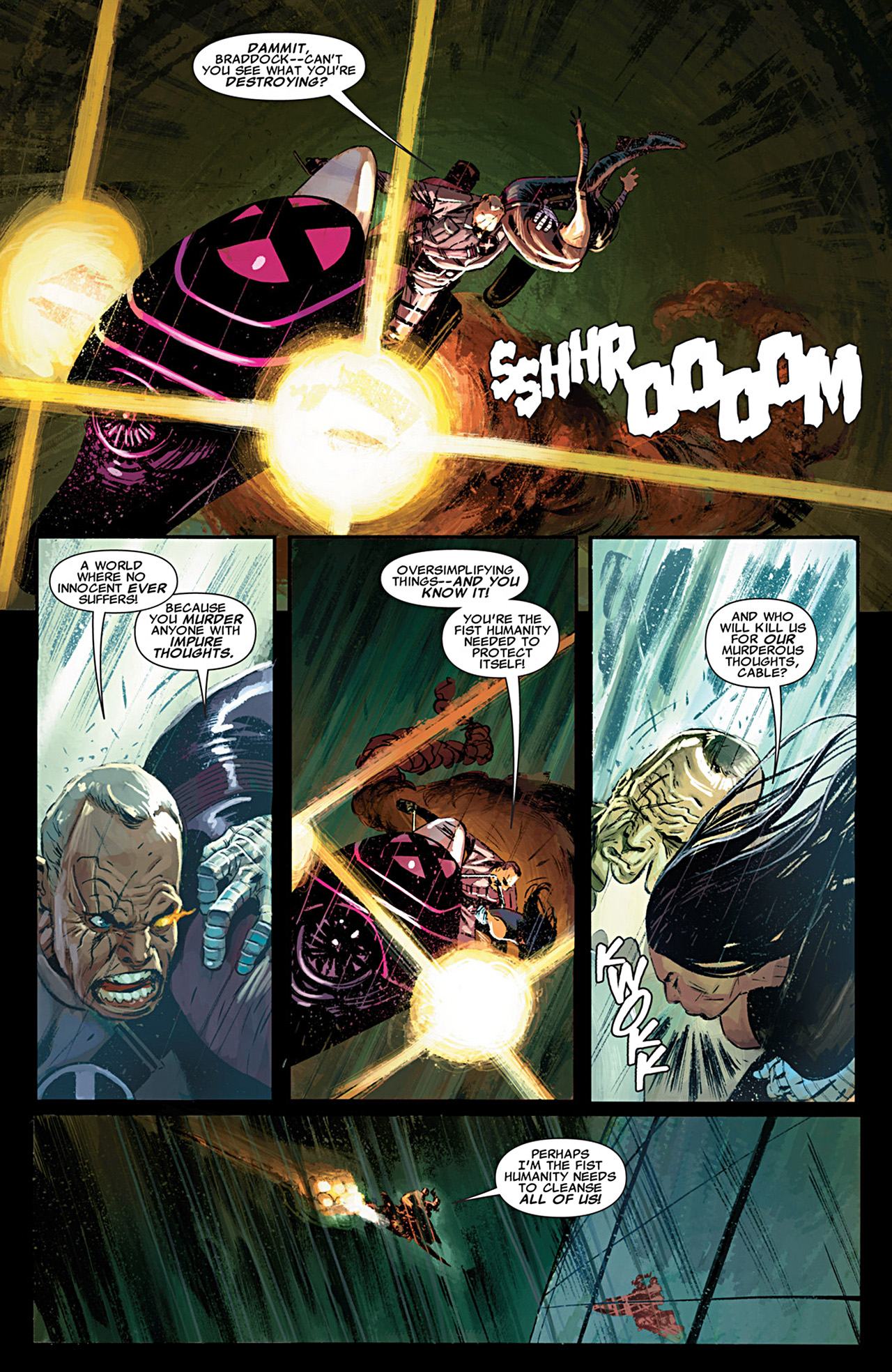 Read online Uncanny X-Force (2010) comic -  Issue #29 - 7