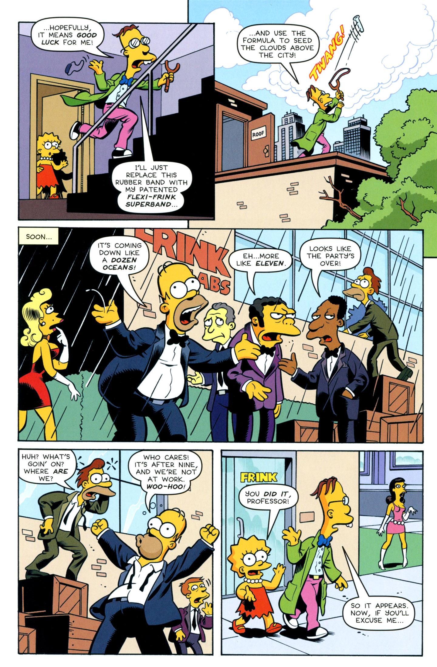 Read online Simpsons One-Shot Wonders: Professor Frink comic -  Issue # Full - 12
