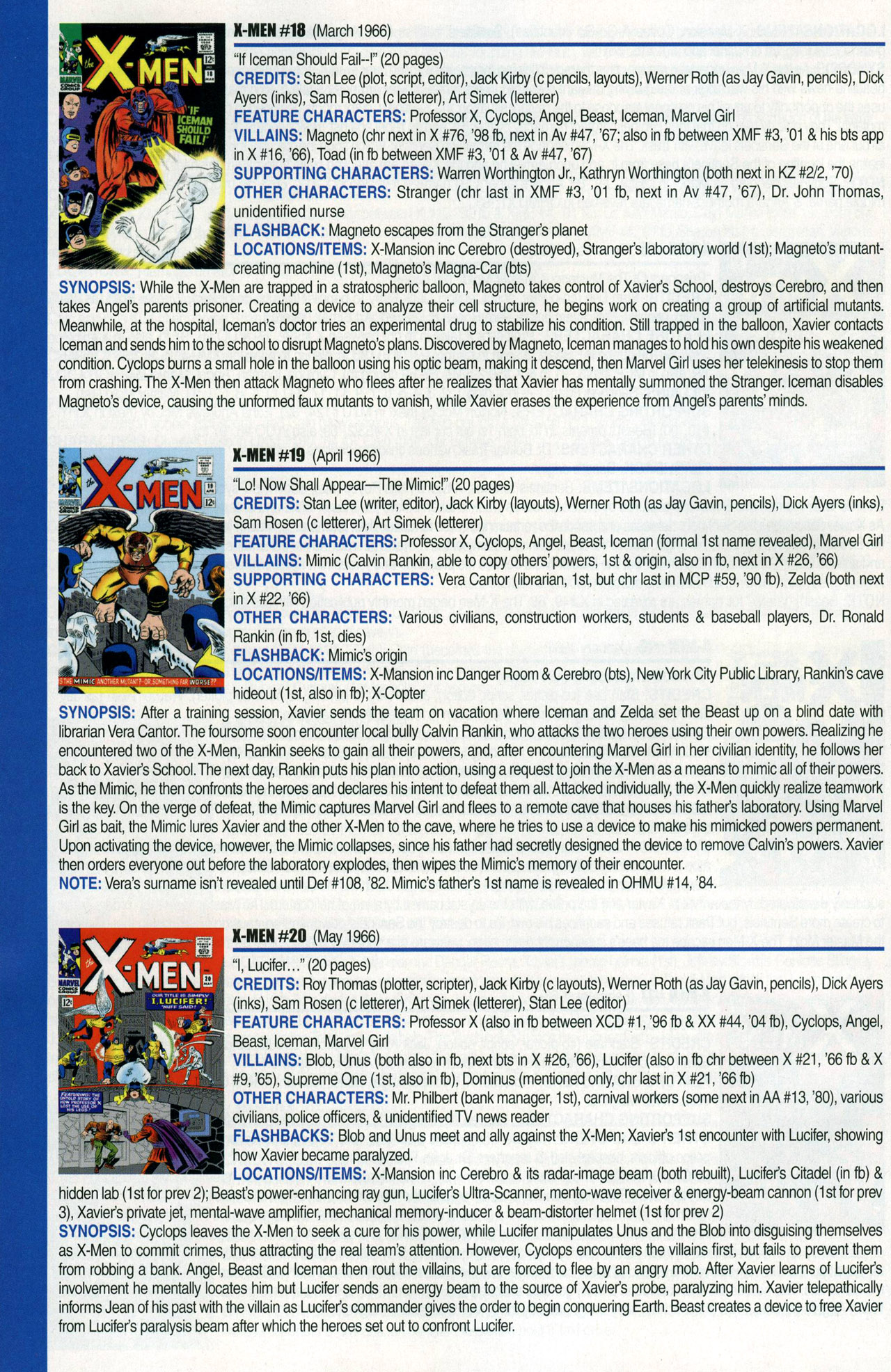 Read online Official Index to the Marvel Universe comic -  Issue #1 - 52