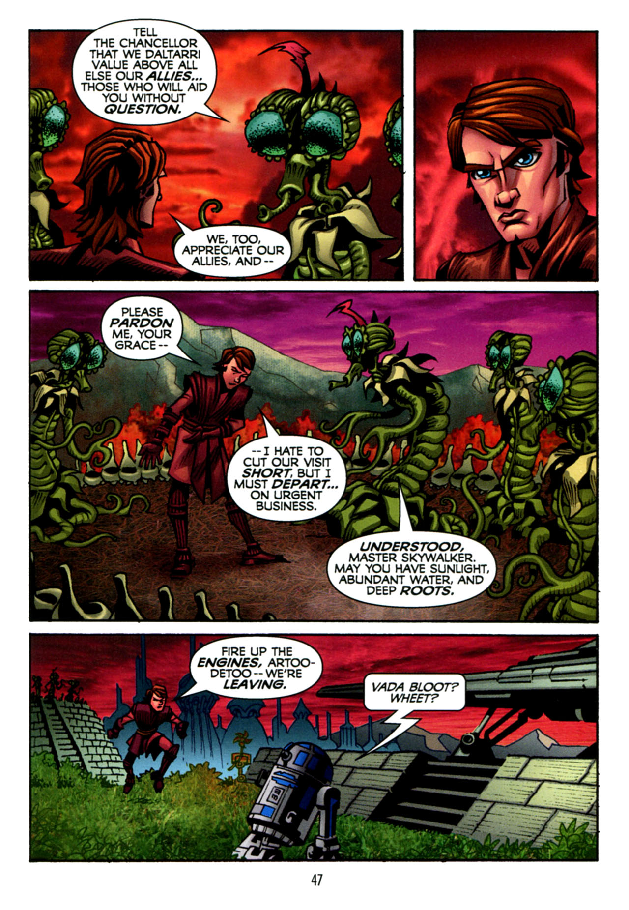 Read online Star Wars: The Clone Wars - The Starcrusher Trap comic -  Issue # Full - 48