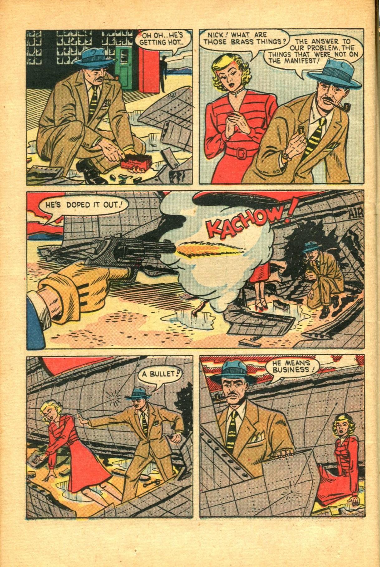 Read online Shadow Comics comic -  Issue #91 - 36