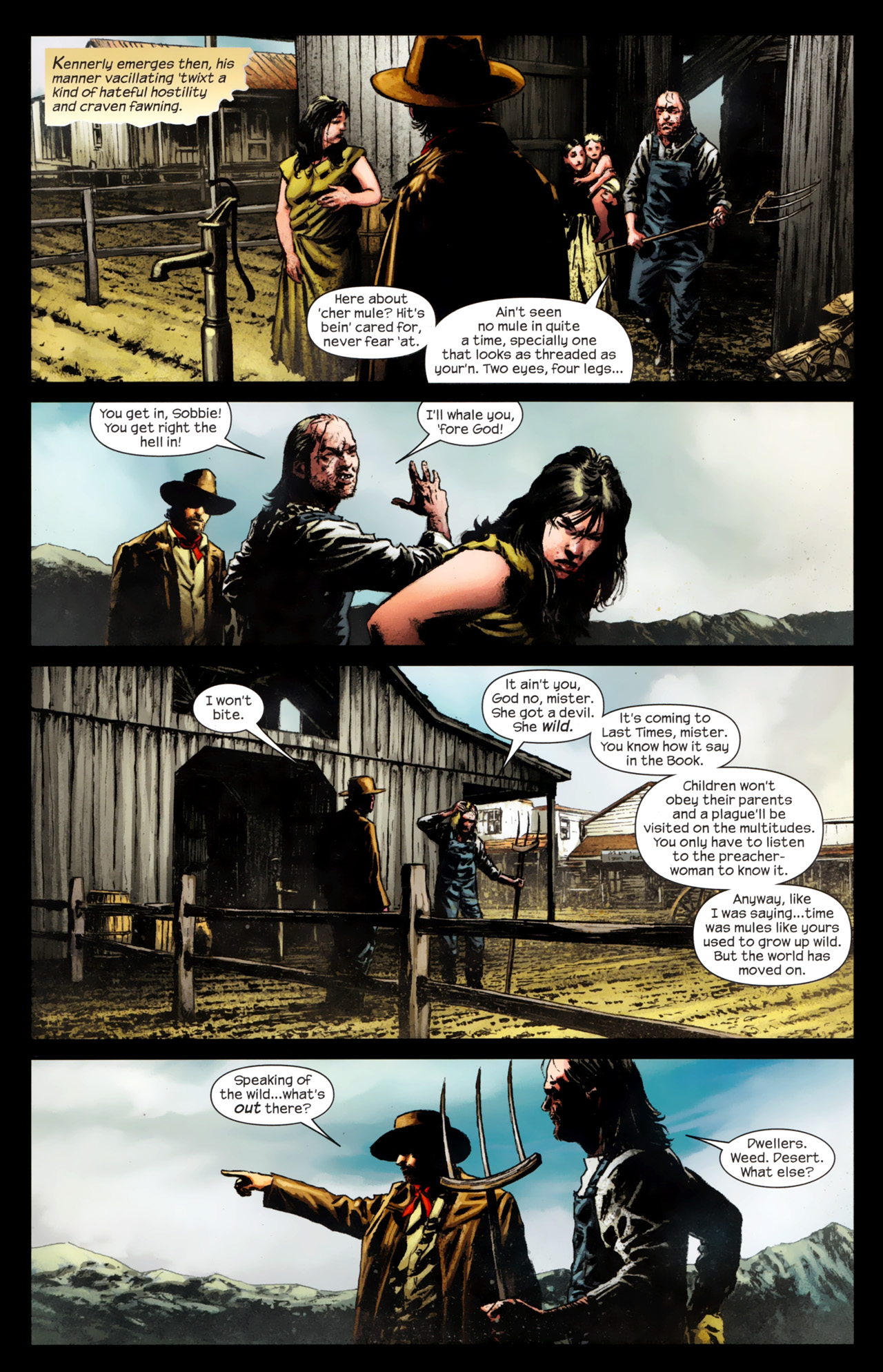 Read online Dark Tower: The Gunslinger - The Battle of Tull comic -  Issue #4 - 6