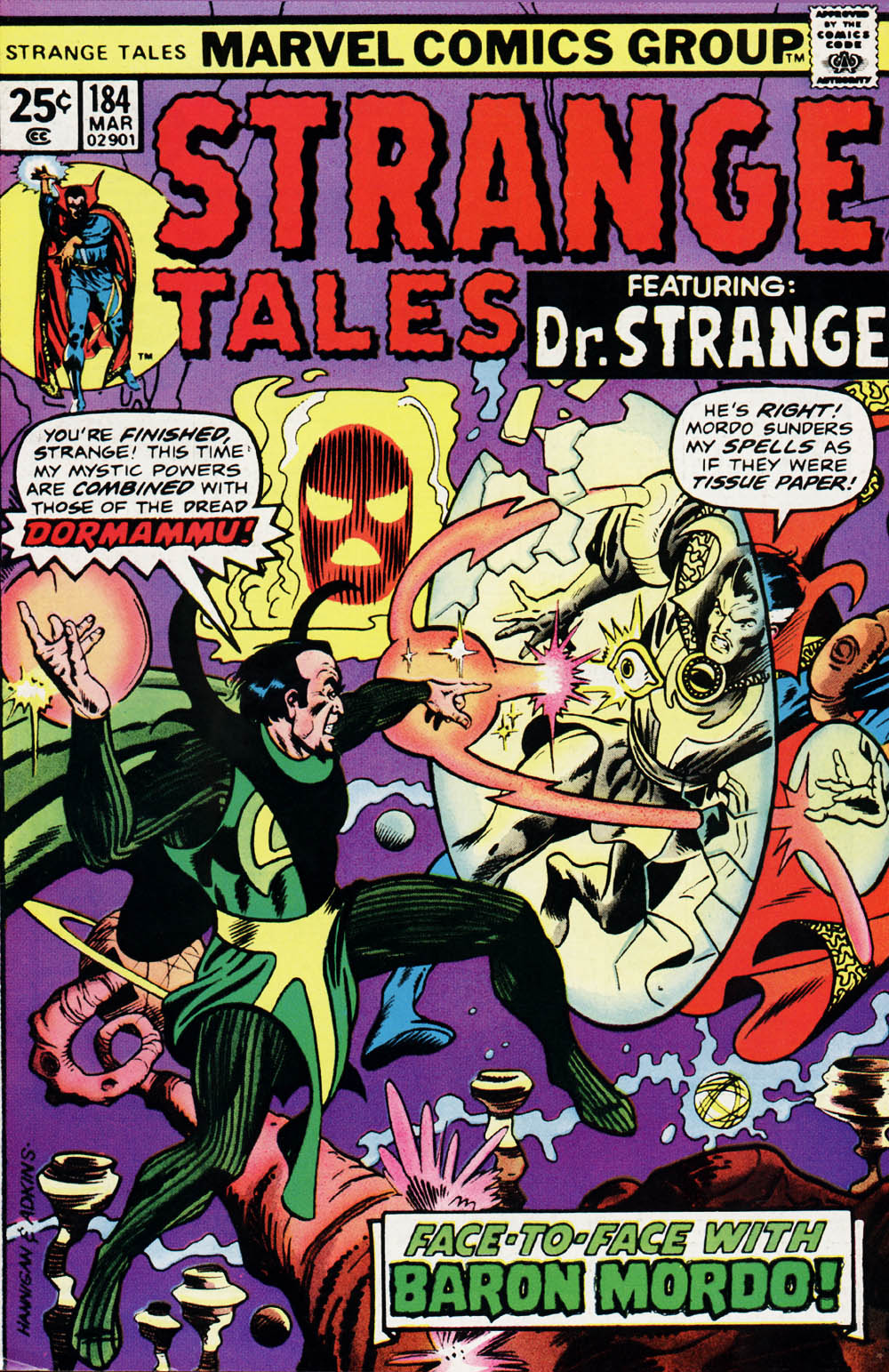 Strange Tales (1951) issue 184 - Page 1