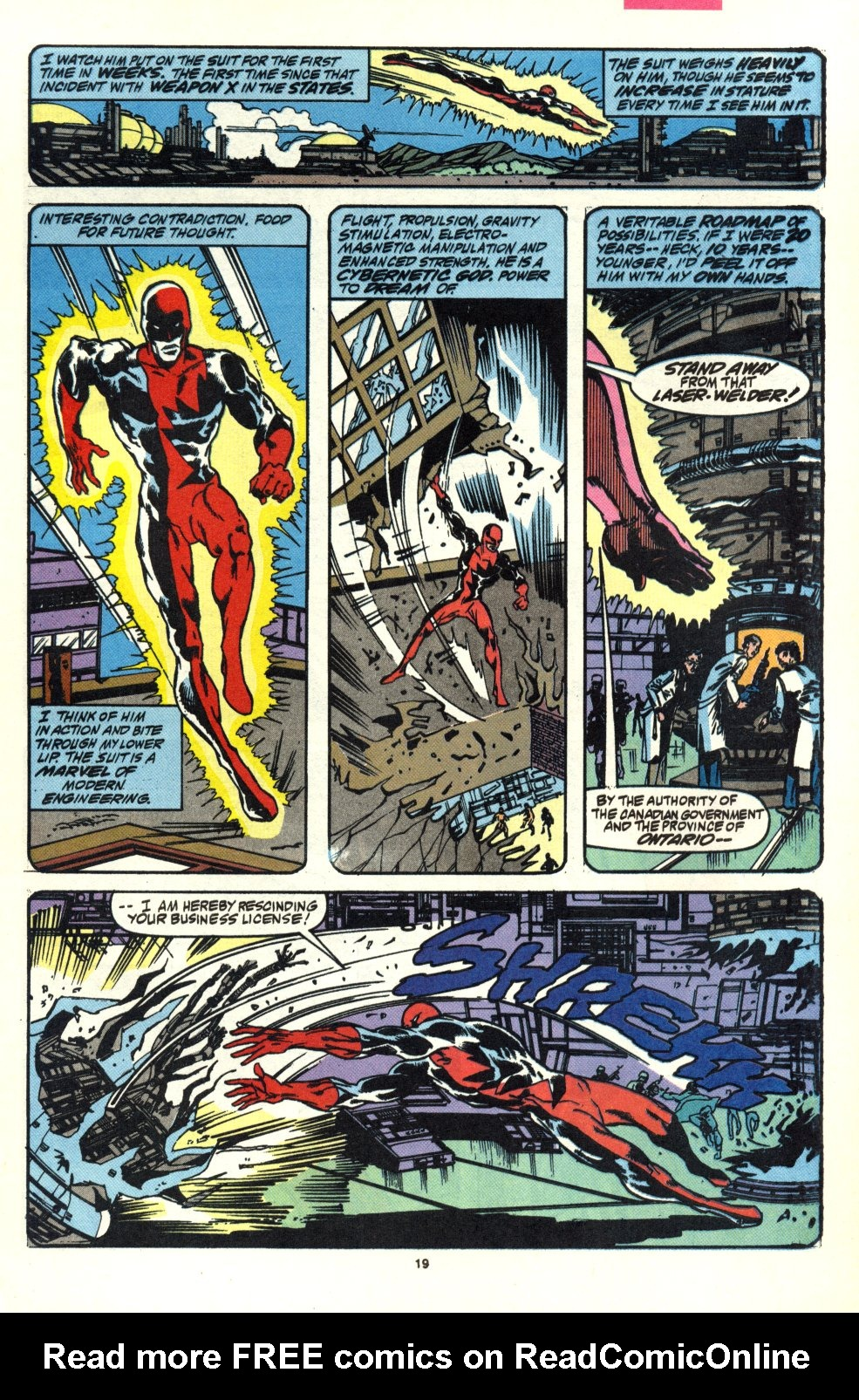 Read online Alpha Flight (1983) comic -  Issue #92 - 15