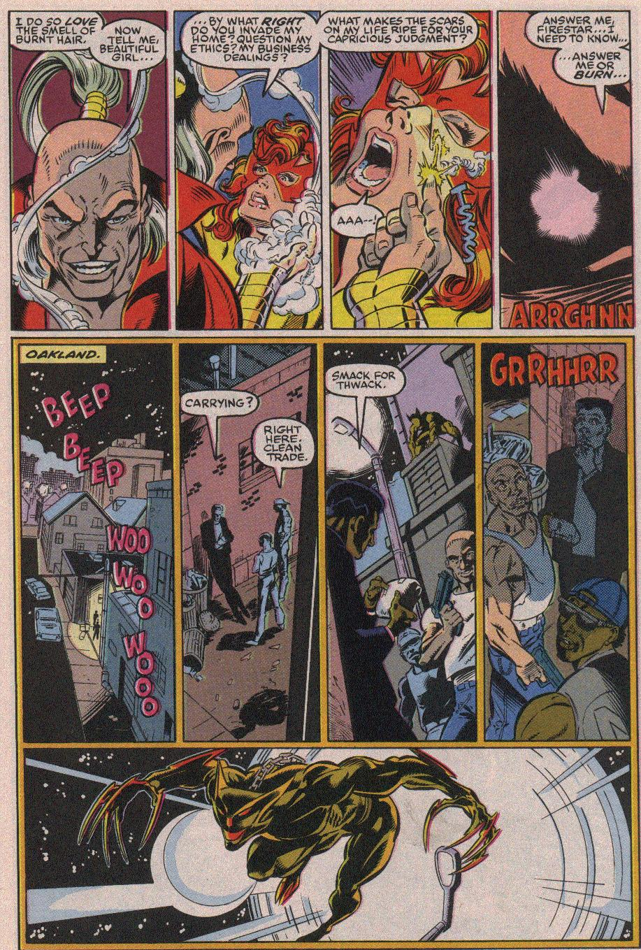 The New Warriors Issue #19 #23 - English 7