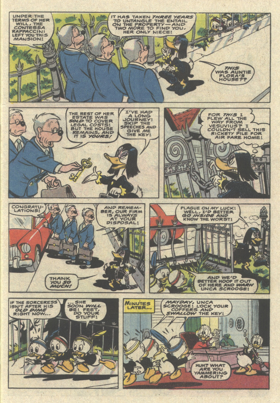 Read online Uncle Scrooge (1953) comic -  Issue #221 - 5