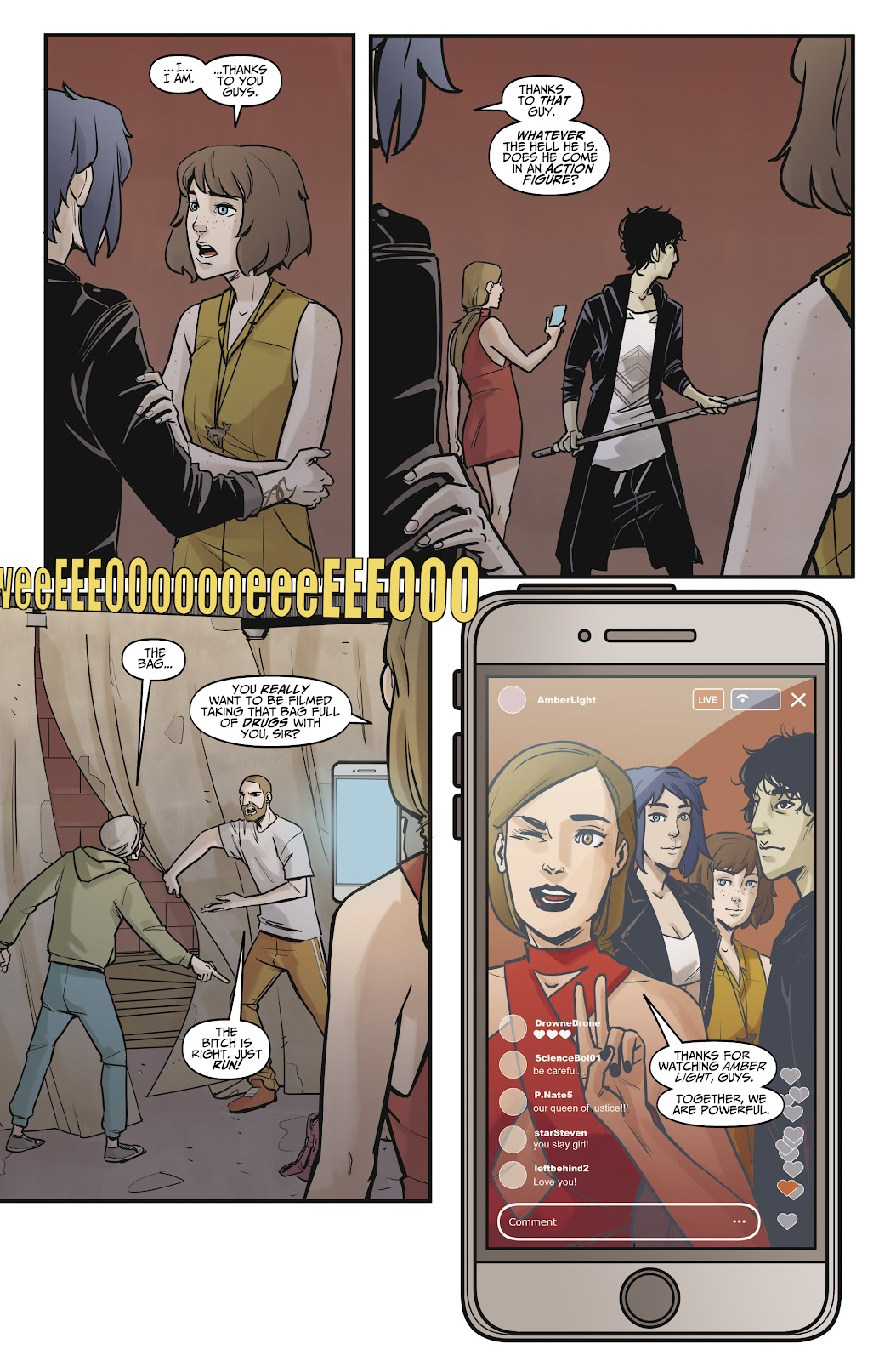 Read online Life is Strange comic -  Issue #8 - 25
