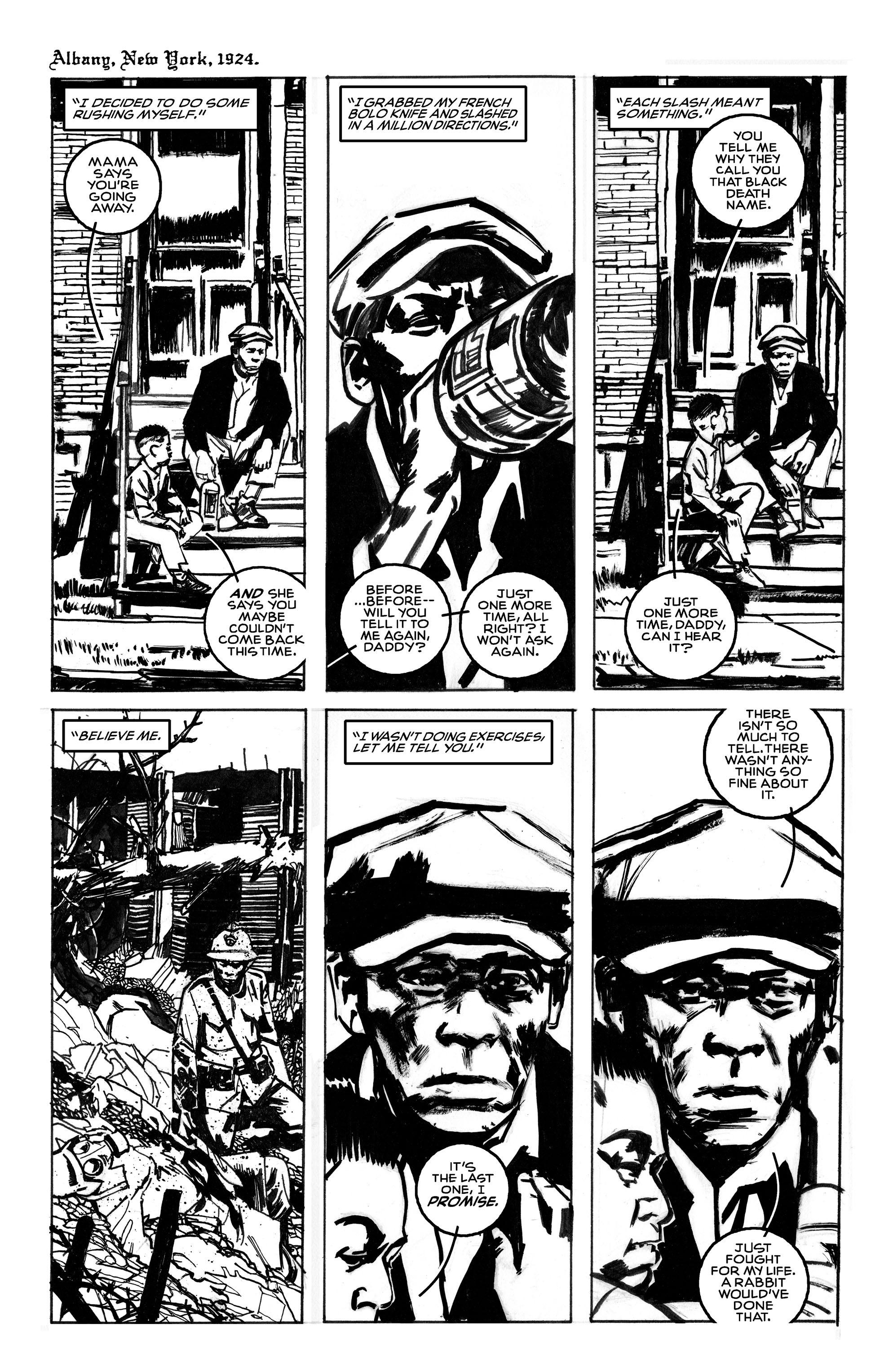 Read online Black Death in America comic -  Issue # Full - 7