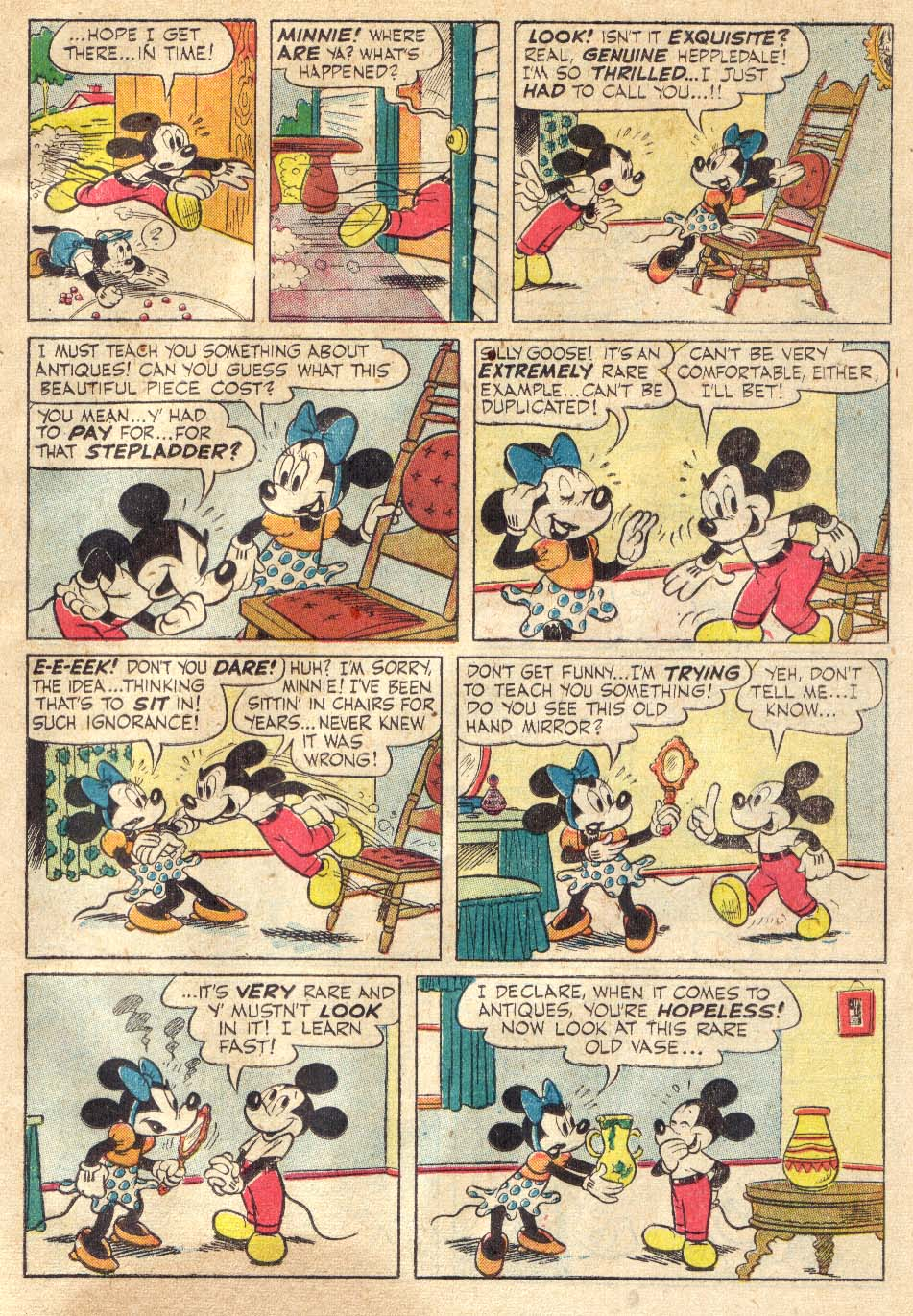 Walt Disney's Comics and Stories issue 146 - Page 43