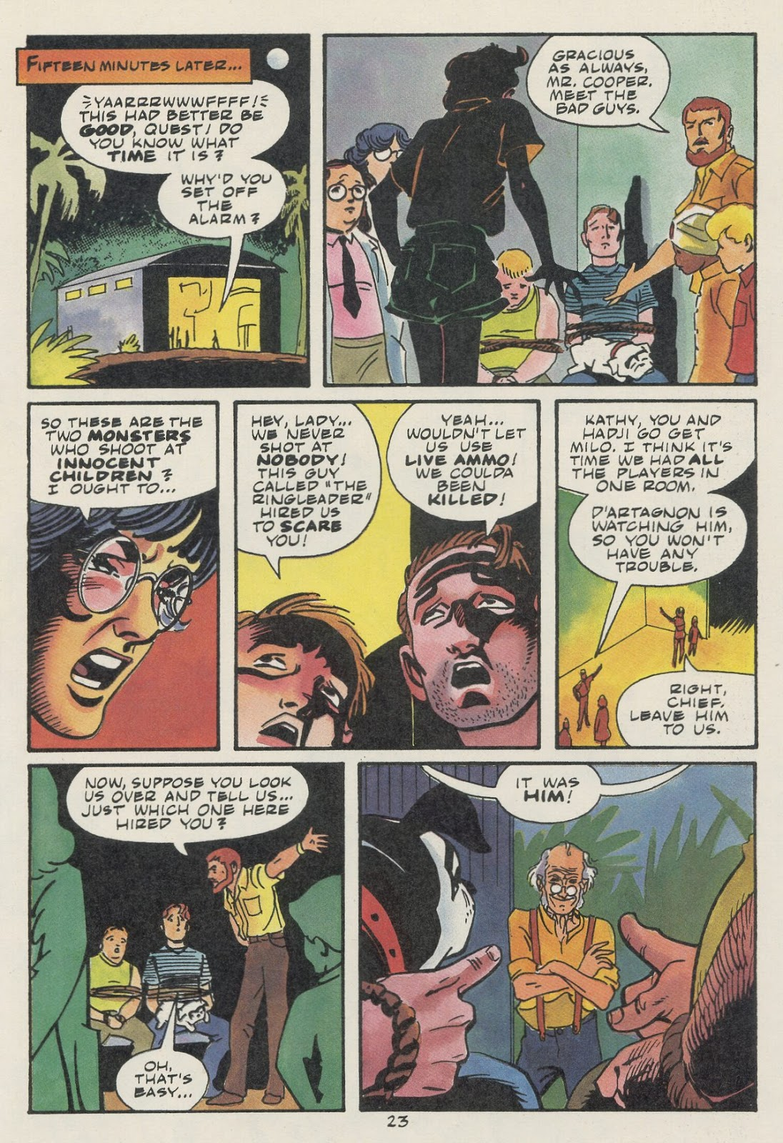 Jonny Quest (1986) issue 17 - Page 25