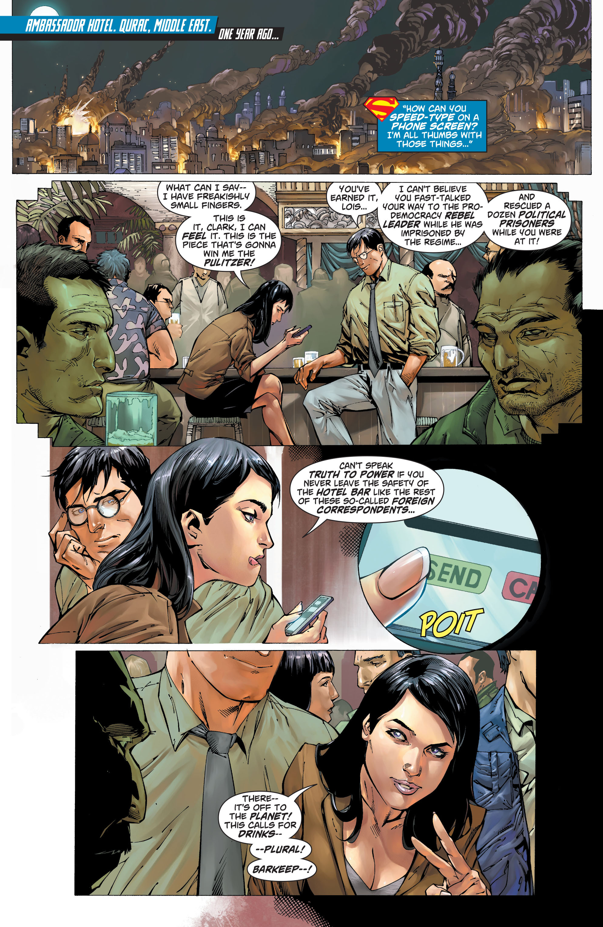 Read online Action Comics (2011) comic -  Issue #19 - 3