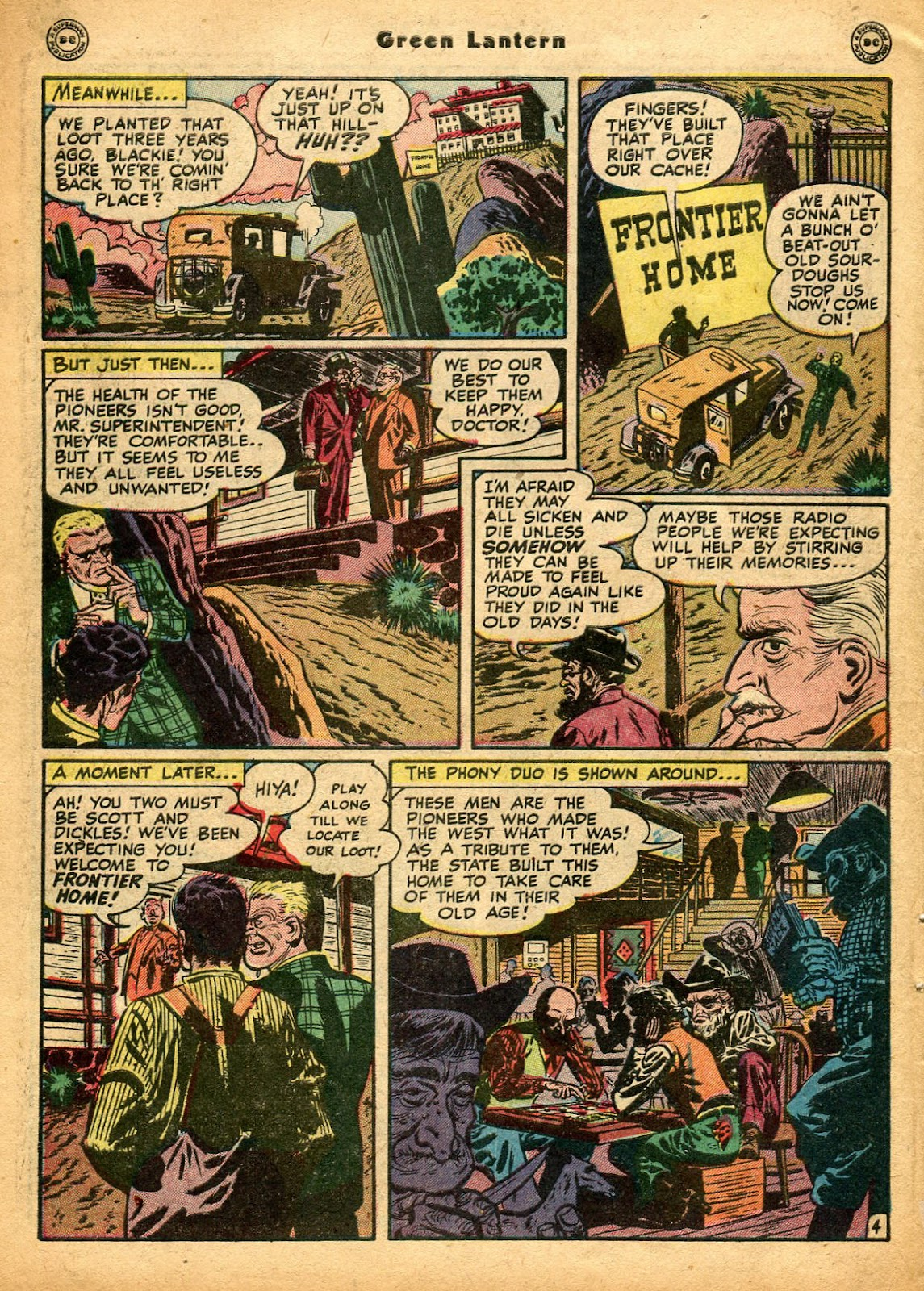 Green Lantern (1941) Issue #33 #33 - English 7