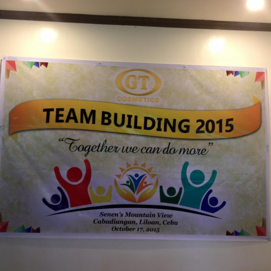 GT Cosmetics team building seminar in Liloan Cebu Philippines