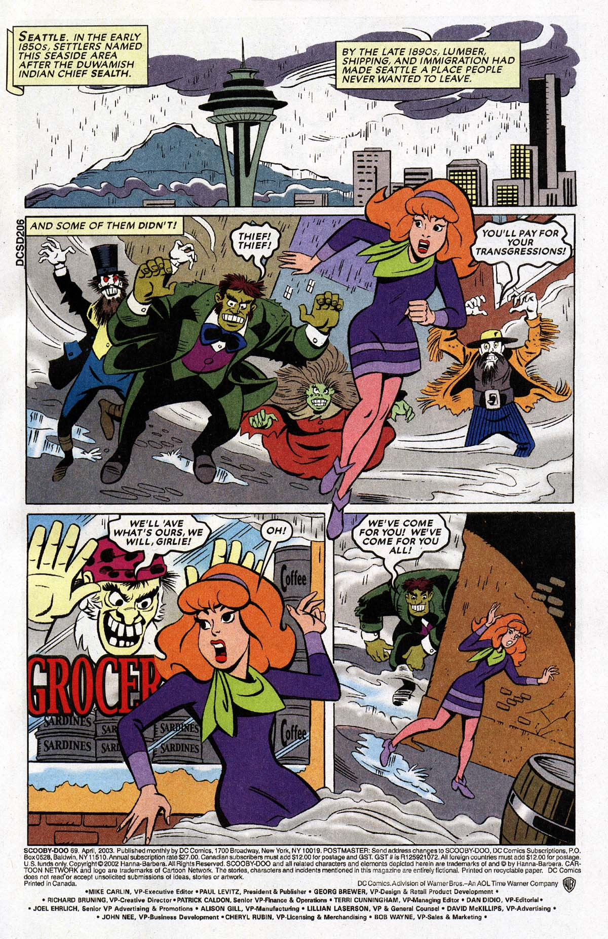 Read online Scooby-Doo (1997) comic -  Issue #69 - 2