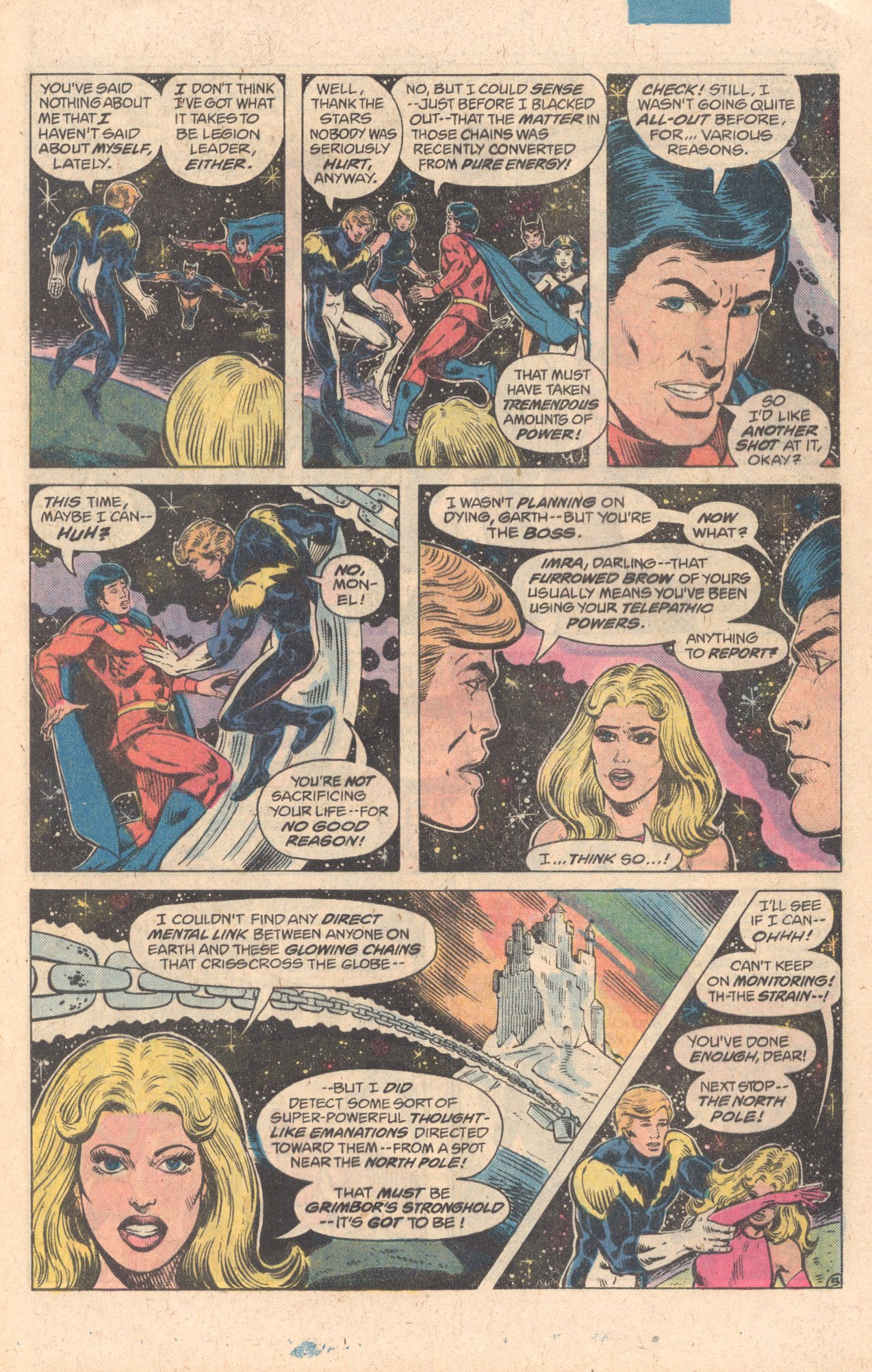 Legion of Super-Heroes (1980) 278 Page 5