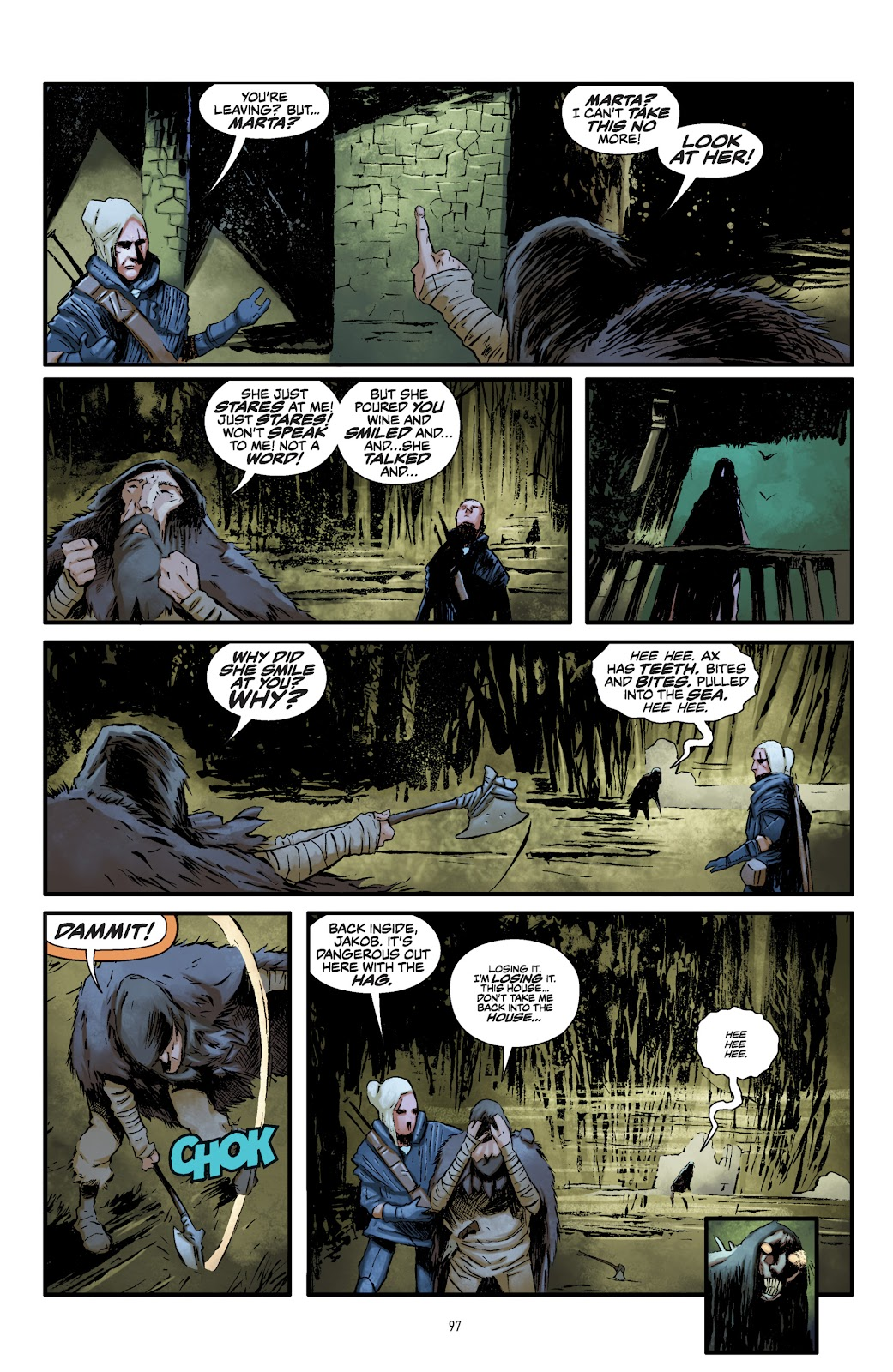Read online The Witcher Omnibus comic -  Issue # TPB (Part 1) - 95