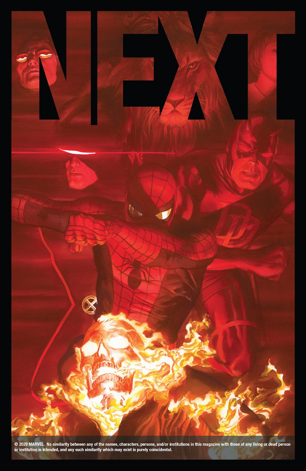 Read online Marvels X comic -  Issue #1 - 31