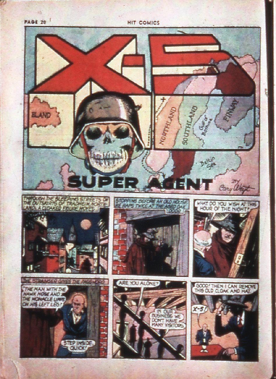 Read online Hit Comics comic -  Issue #4 - 22
