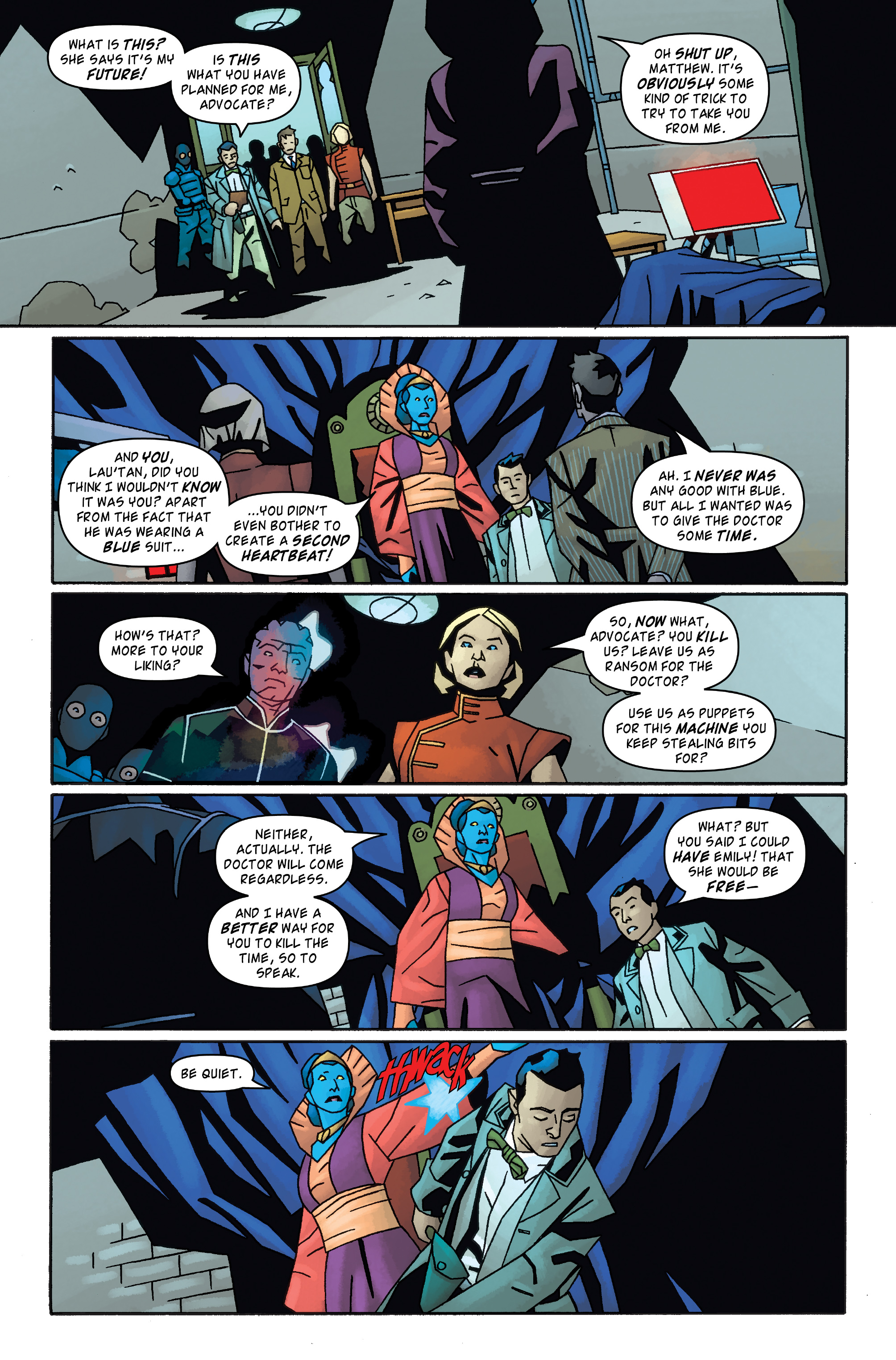 Read online Doctor Who: The Tenth Doctor Archives comic -  Issue #31 - 27