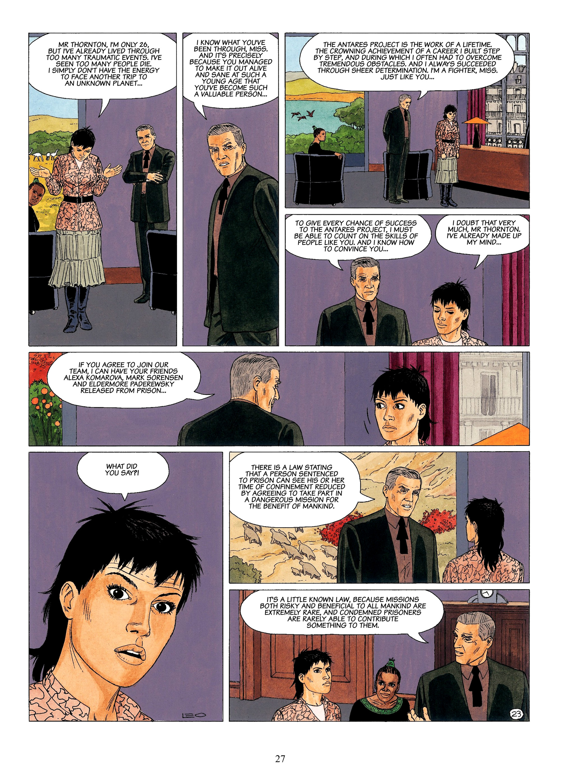 Read online Antares comic -  Issue #1 - 25