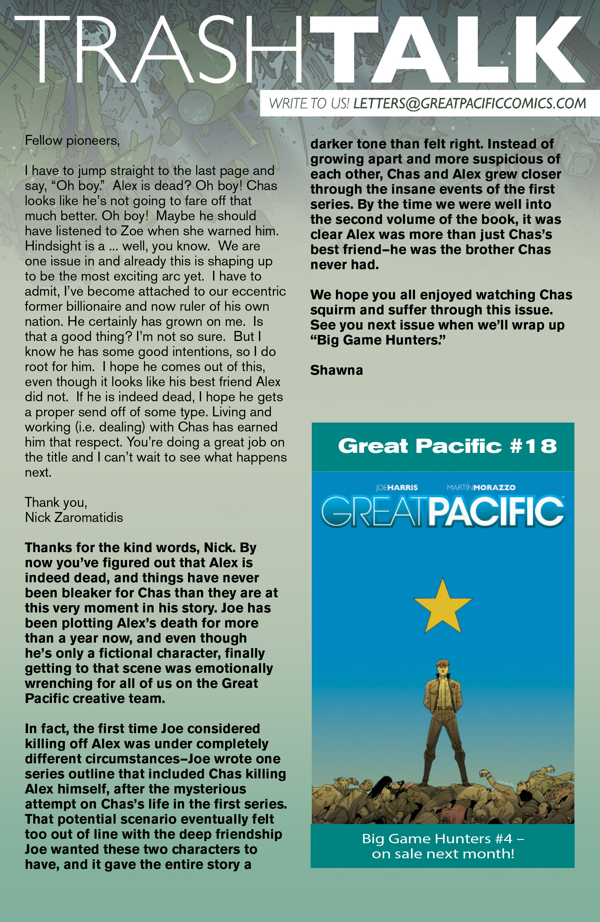 Read online Great Pacific comic -  Issue #17 - 25