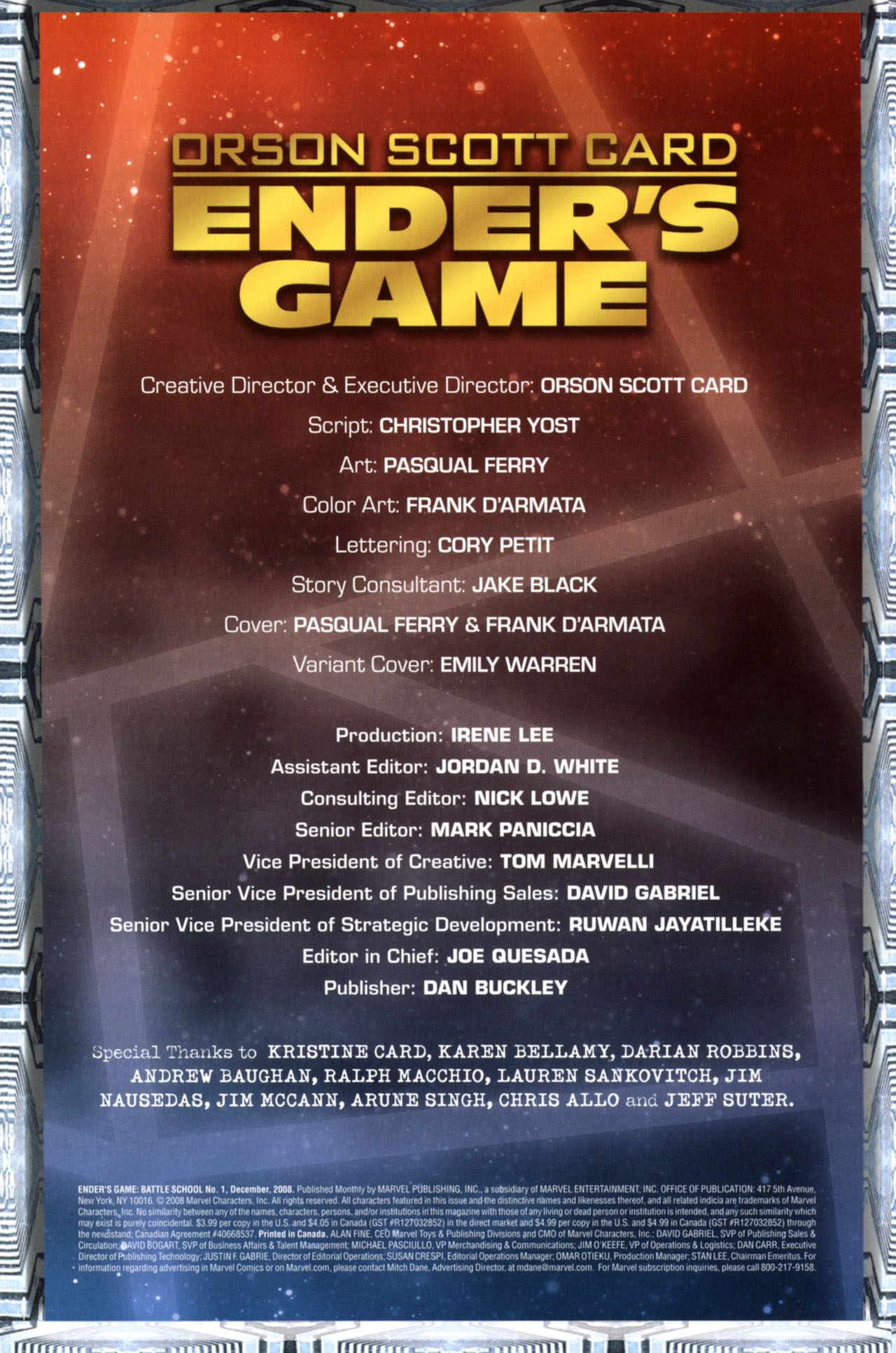 Read online Ender's Game: Battle School comic -  Issue #1 - 3