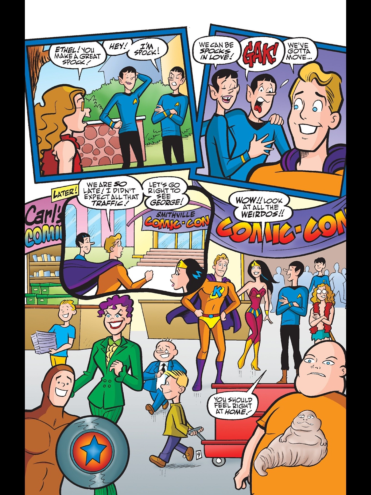 Read online Kevin Keller comic -  Issue #6 - 10