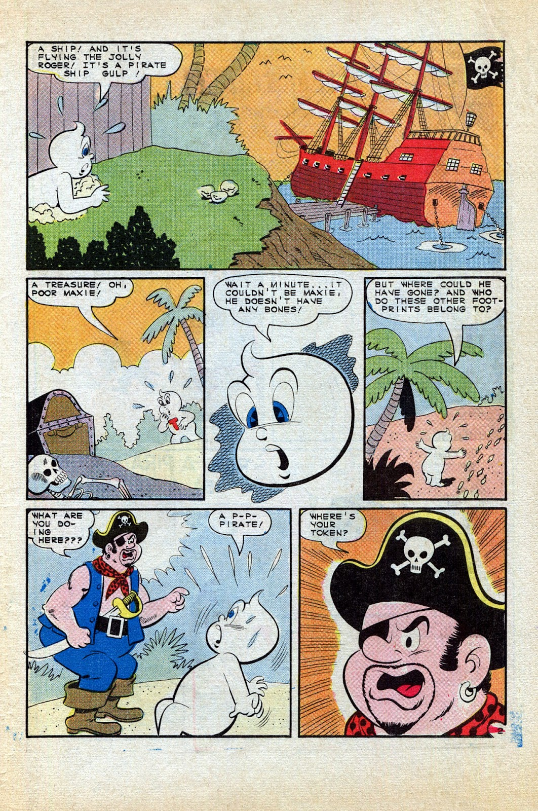Read online Timmy the Timid Ghost comic -  Issue #1 - 31
