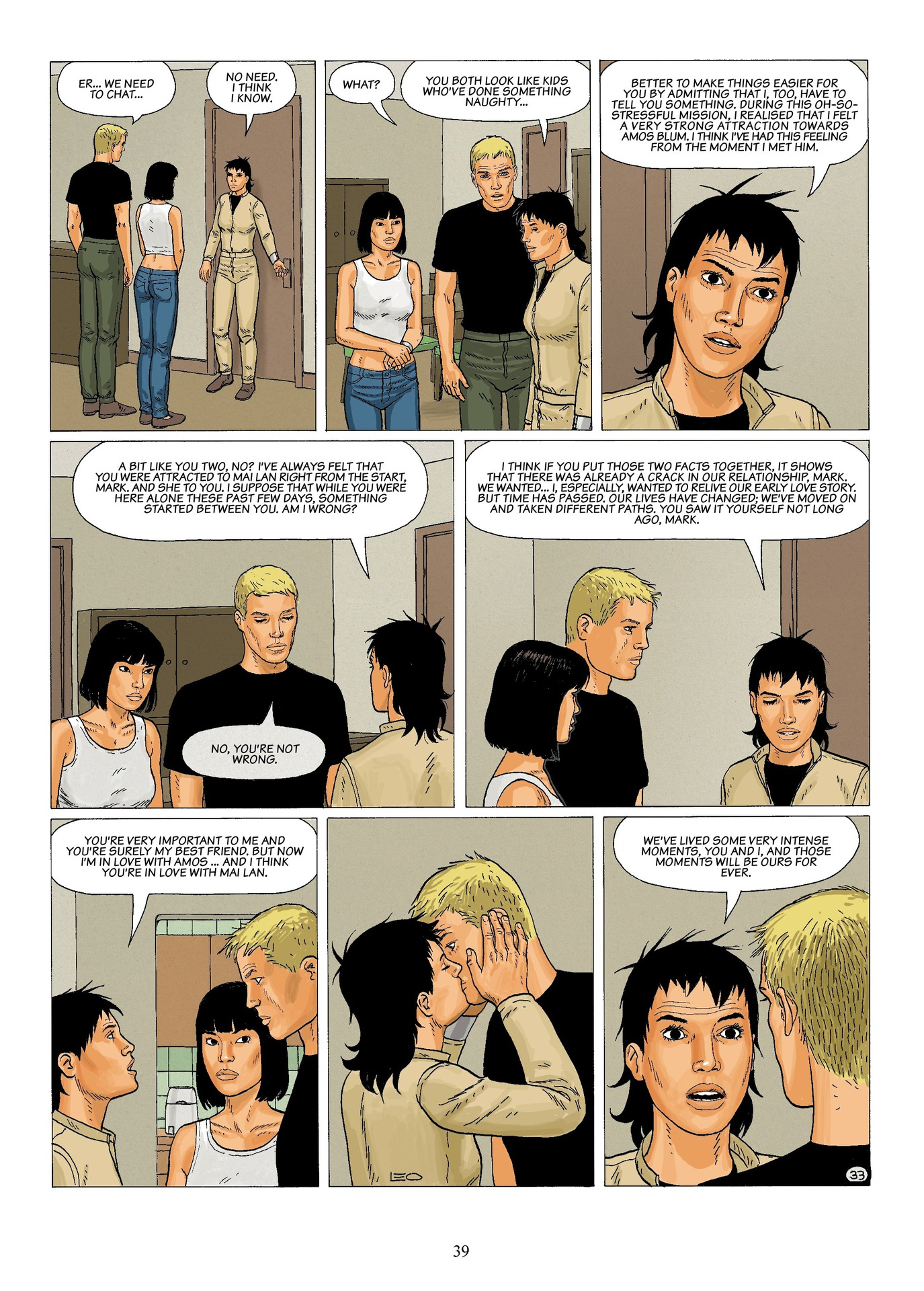 Read online Antares comic -  Issue #6 - 41