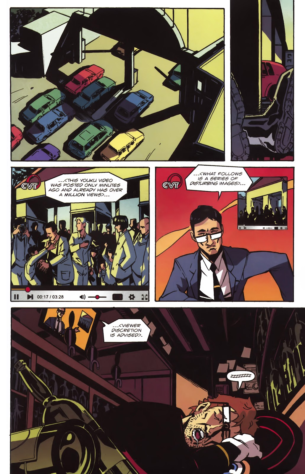 Read online Ricky Rouse Has A Gun comic -  Issue # TPB (Part 1) - 70